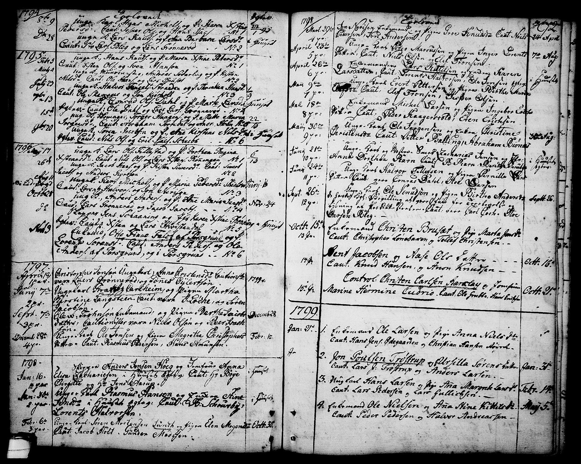 SAKO, Brevik kirkebøker, F/Fa/L0003: Ministerialbok nr. 3, 1764-1814, s. 92