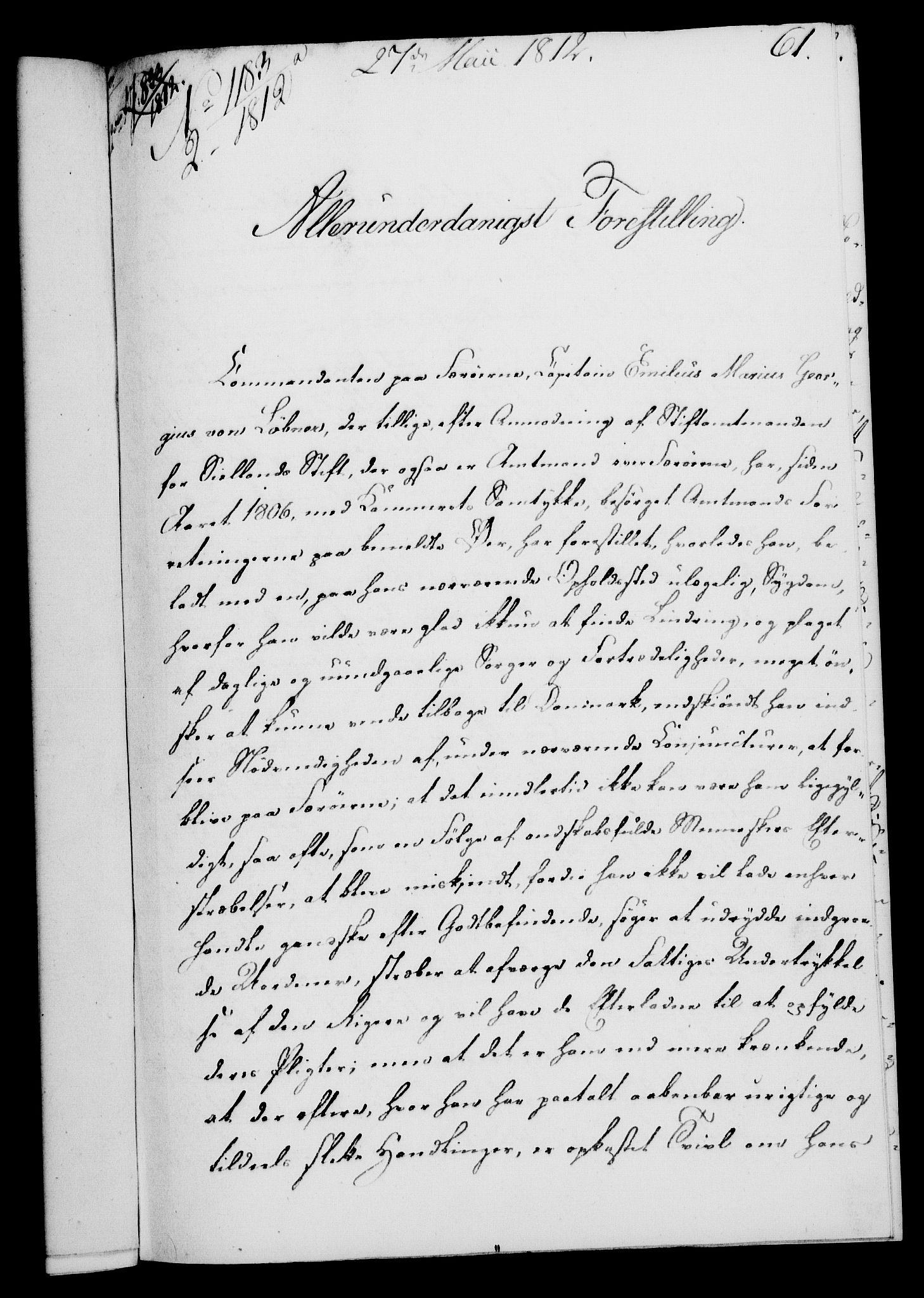 RA, Rentekammeret, Kammerkanselliet, G/Gf/Gfa/L0094: Norsk relasjons- og resolusjonsprotokoll (merket RK 52.94), 1812, s. 214