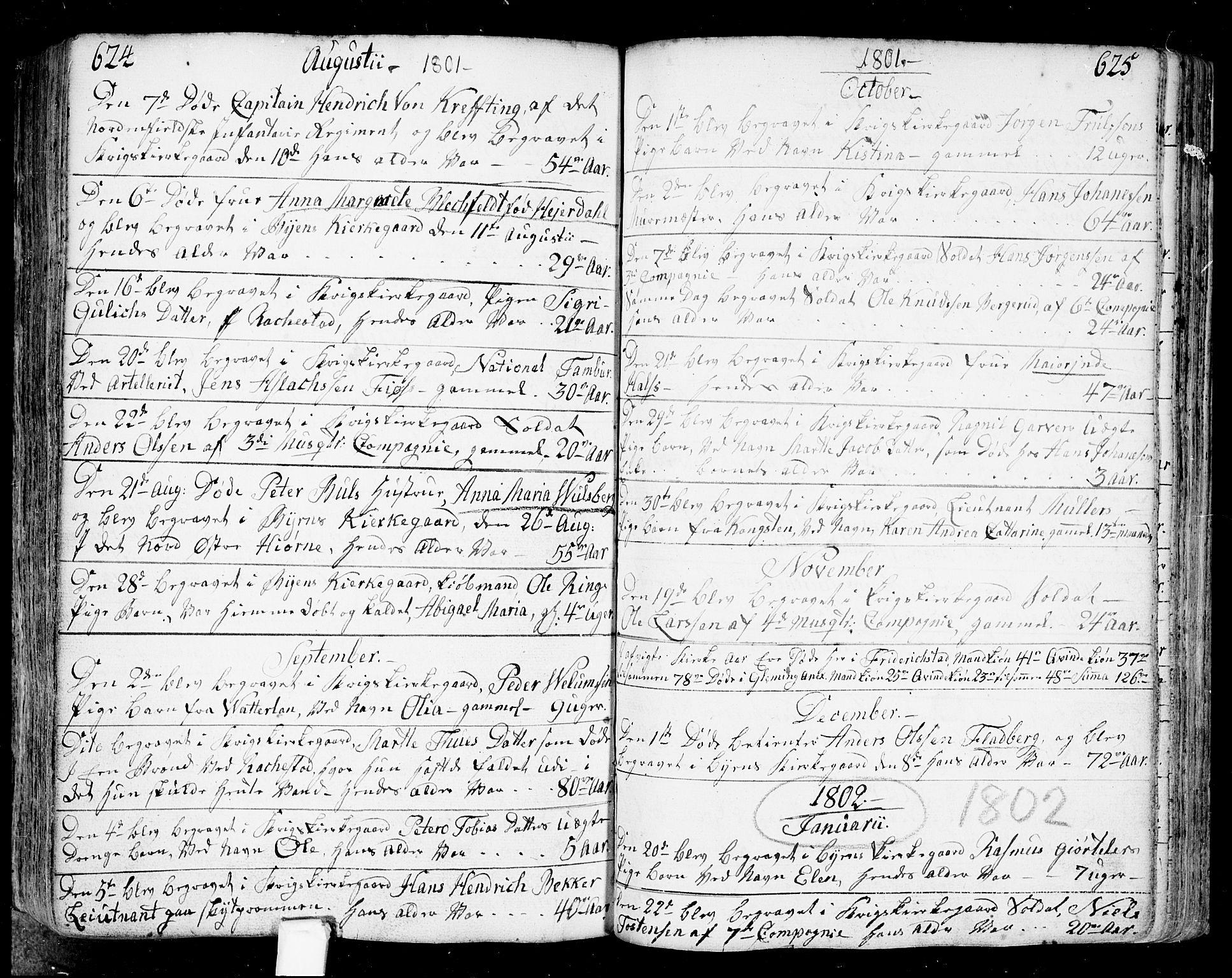 SAO, Fredrikstad prestekontor Kirkebøker, F/Fa/L0002: Ministerialbok nr. 2, 1750-1804, s. 624-625