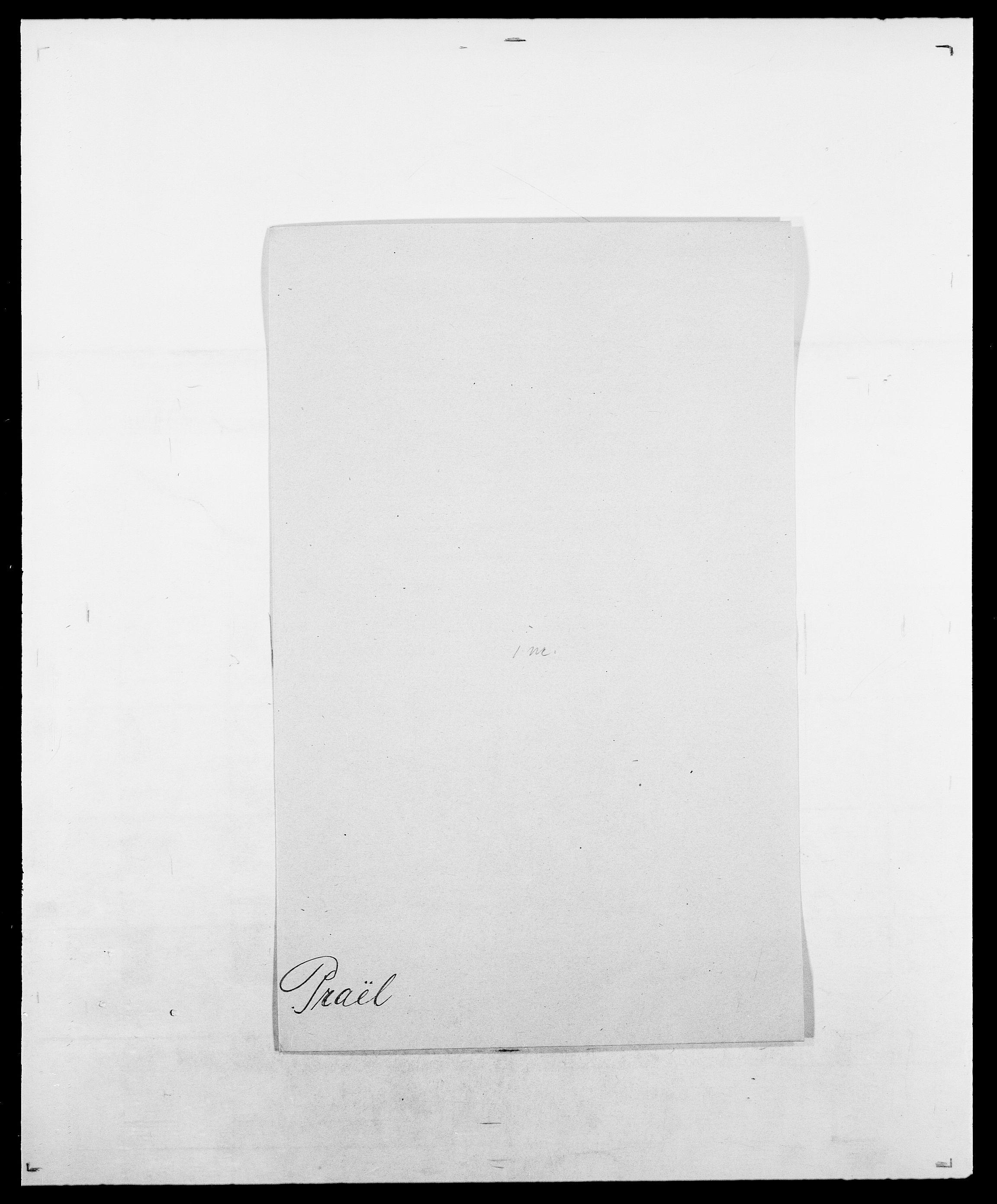 SAO, Delgobe, Charles Antoine - samling, D/Da/L0031: de Place - Raaum, s. 276