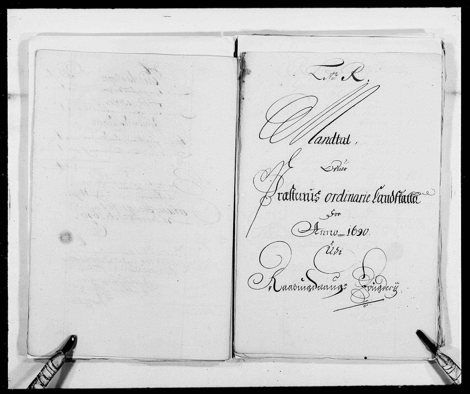 RA, Rentekammeret inntil 1814, Reviderte regnskaper, Fogderegnskap, R40/L2442: Fogderegnskap Råbyggelag, 1689-1690, s. 178
