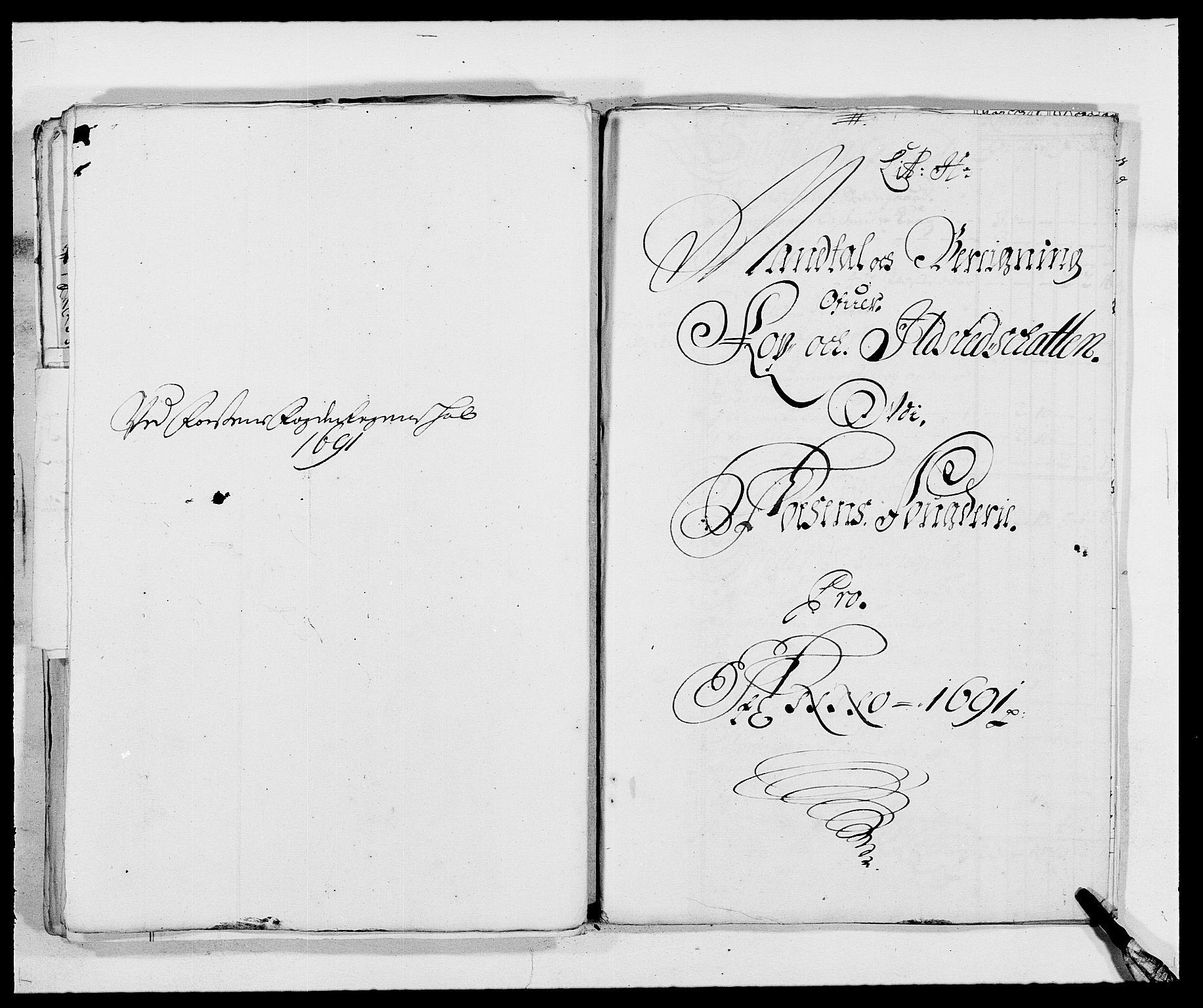RA, Rentekammeret inntil 1814, Reviderte regnskaper, Fogderegnskap, R57/L3848: Fogderegnskap Fosen, 1690-1691, s. 281
