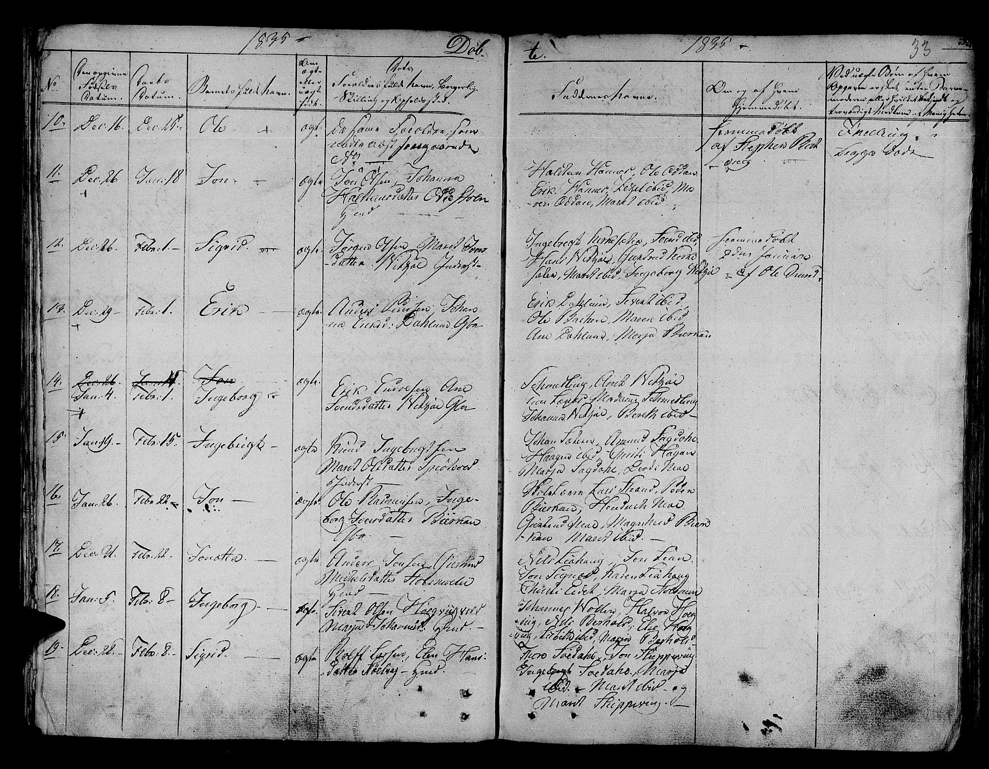 SAT, Ministerialprotokoller, klokkerbøker og fødselsregistre - Sør-Trøndelag, 630/L0492: Ministerialbok nr. 630A05, 1830-1840, s. 33