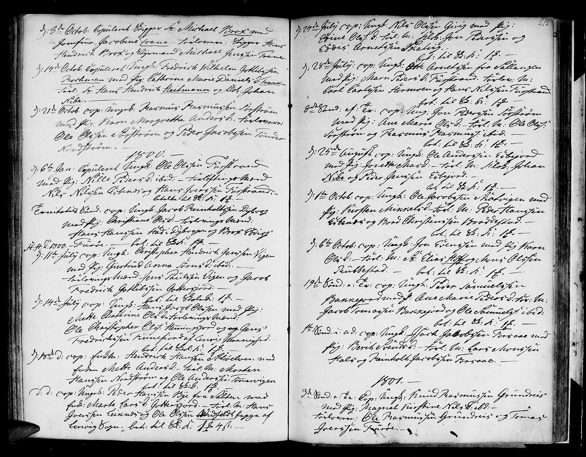 SATØ, Tranøy sokneprestkontor, I/Ia/Iaa/L0002kirke: Ministerialbok nr. 2, 1773-1806, s. 212