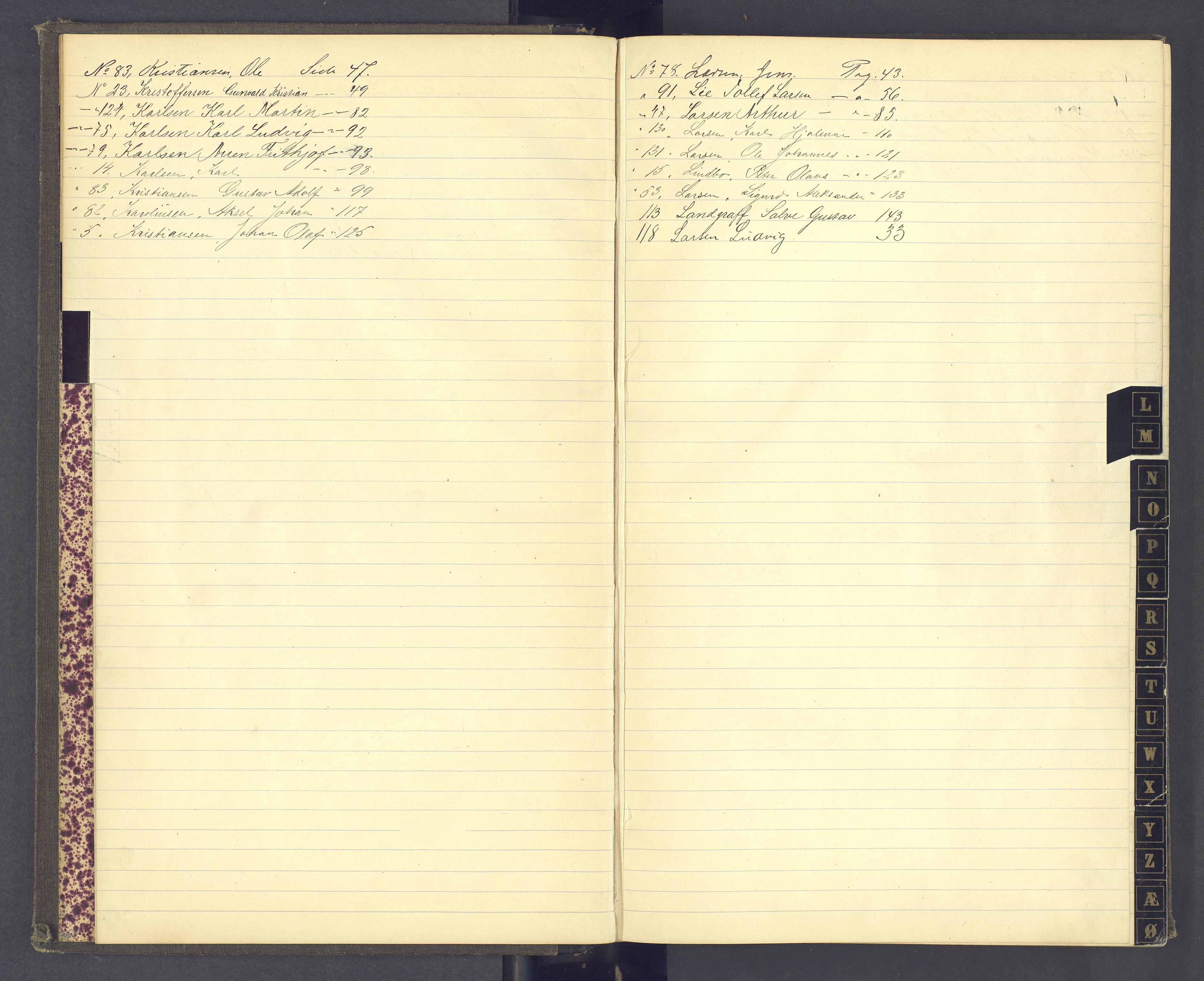 SAH, Toftes Gave, F/Fc/L0003: Elevprotokoll, 1886-1897, s. upaginert