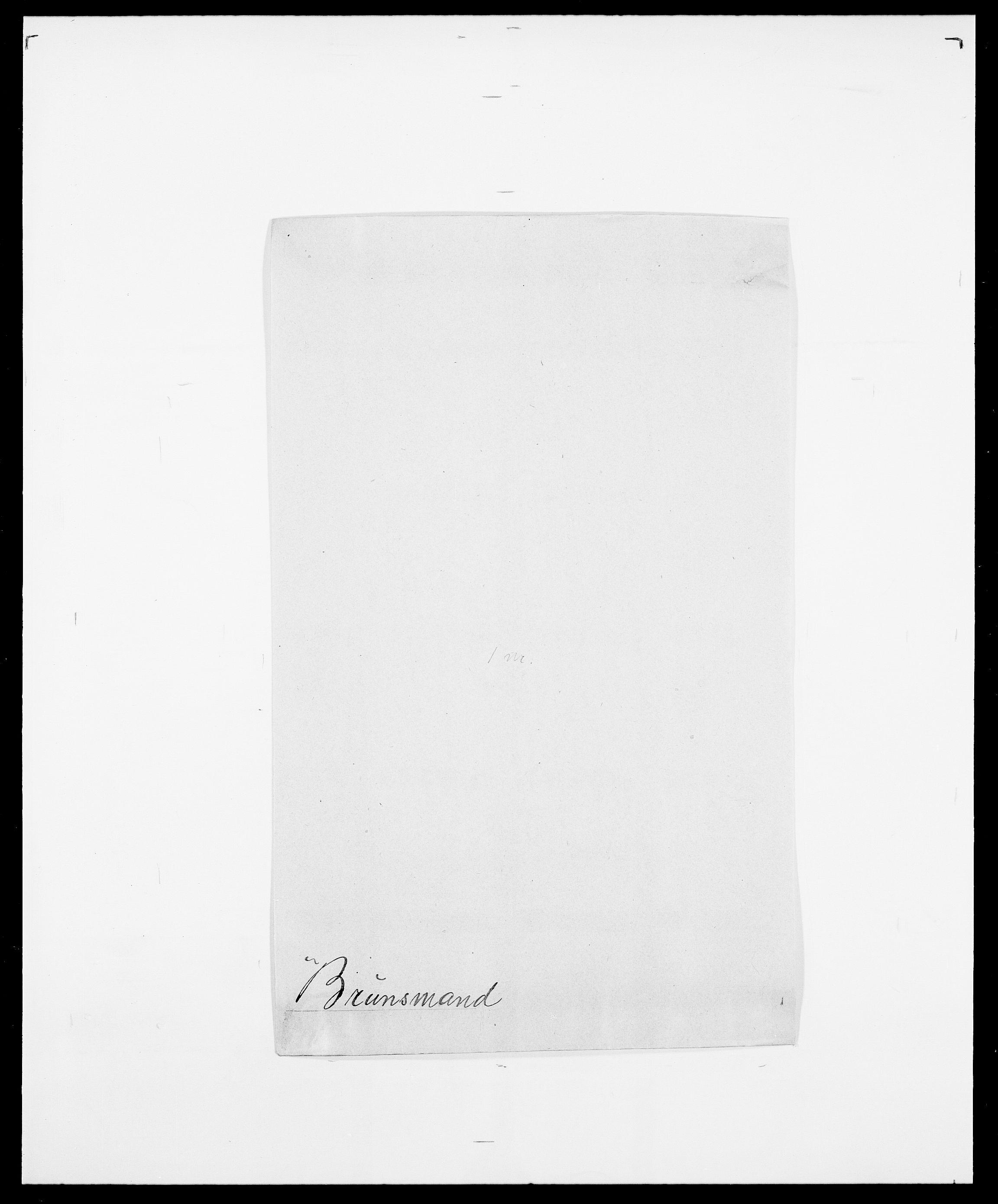 SAO, Delgobe, Charles Antoine - samling, D/Da/L0006: Brambani - Brønø, s. 840
