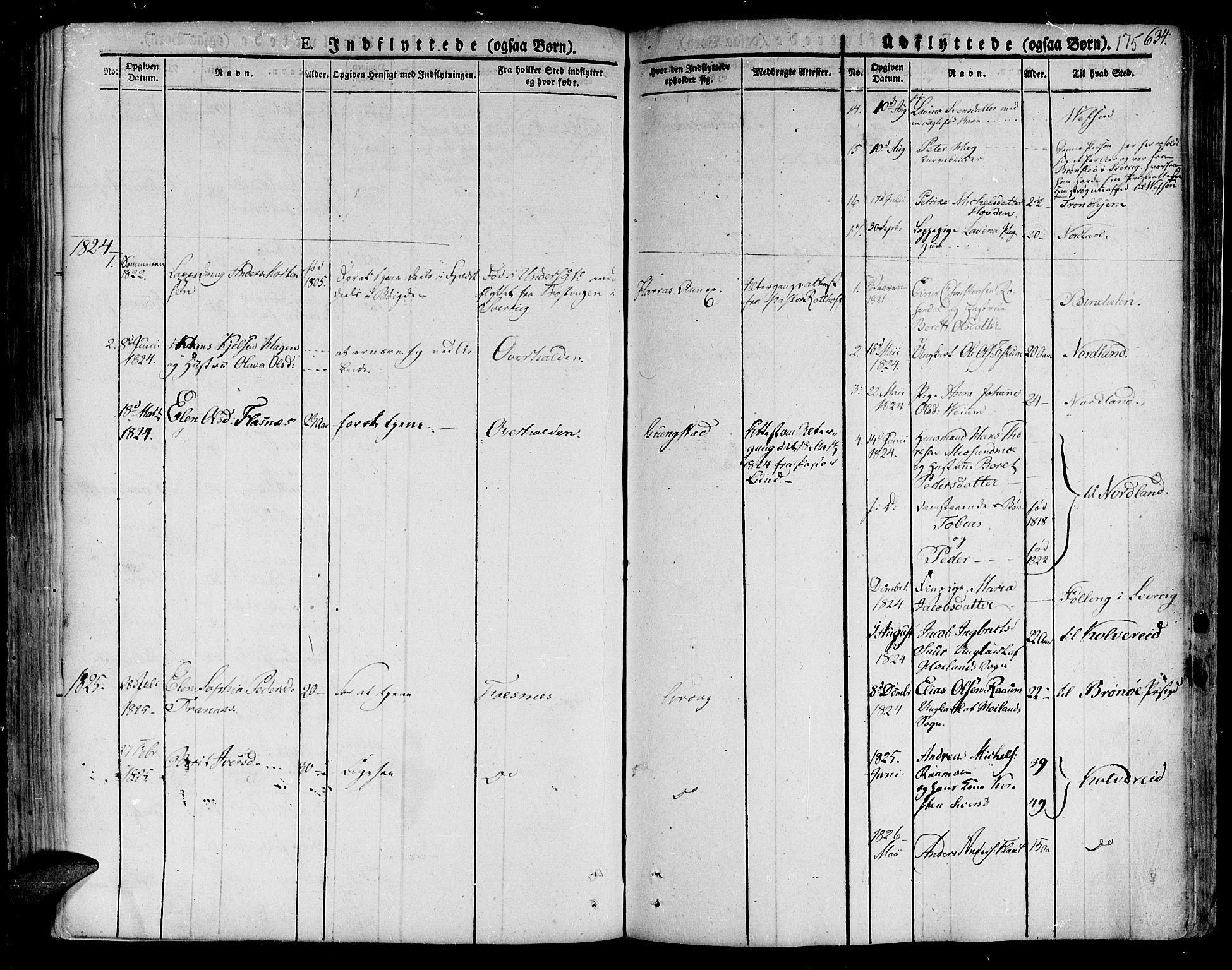 SAT, Ministerialprotokoller, klokkerbøker og fødselsregistre - Nord-Trøndelag, 758/L0510: Ministerialbok nr. 758A01 /1, 1821-1841, s. 175