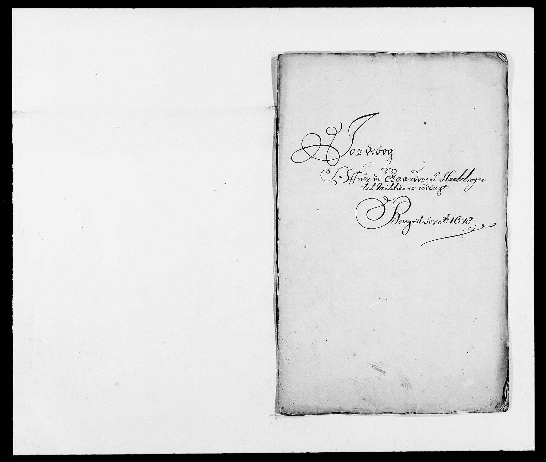 RA, Rentekammeret inntil 1814, Reviderte regnskaper, Fogderegnskap, R02/L0099: Fogderegnskap Moss og Verne kloster, 1678, s. 147