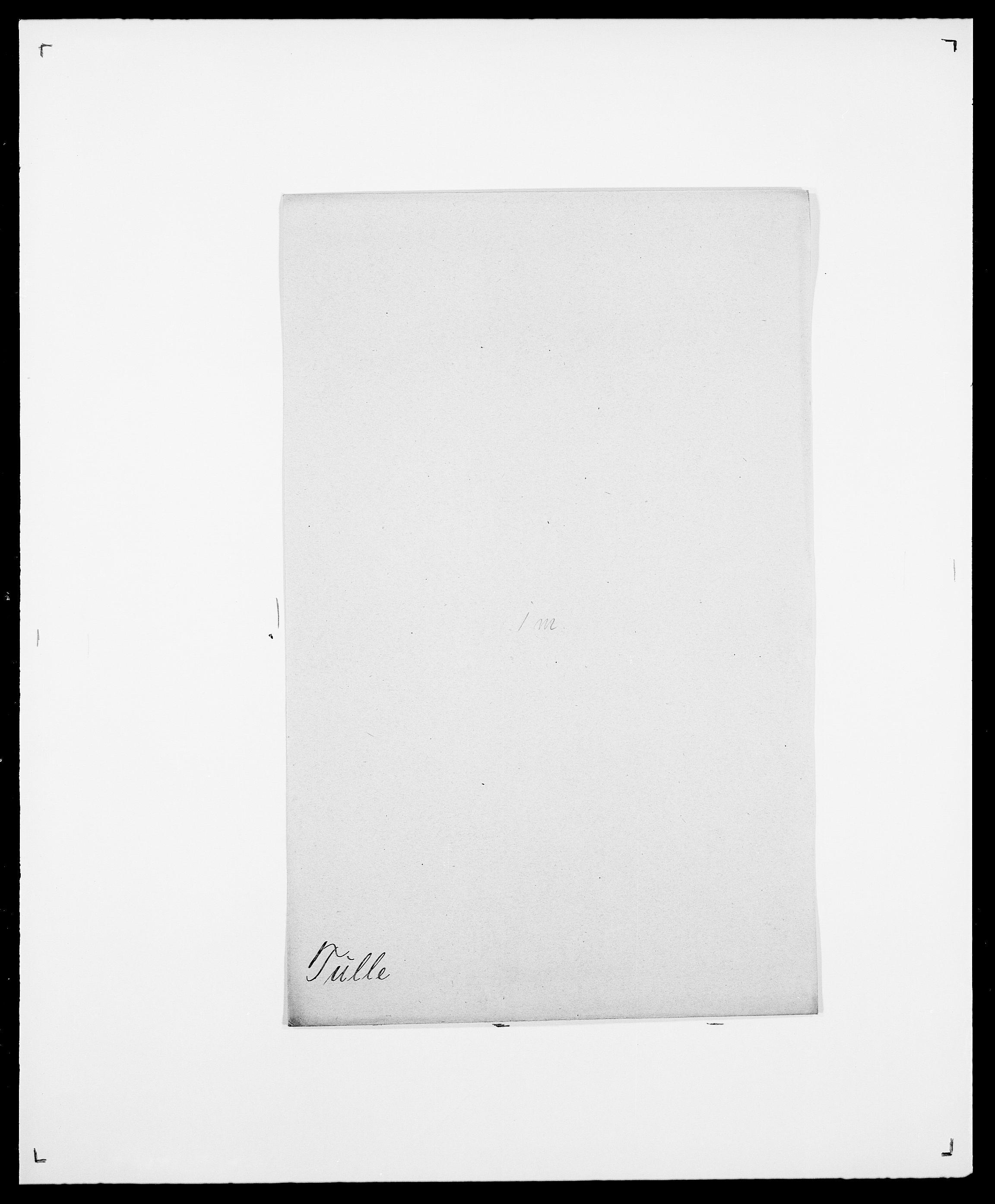SAO, Delgobe, Charles Antoine - samling, D/Da/L0039: Thorsen - Urup, s. 464