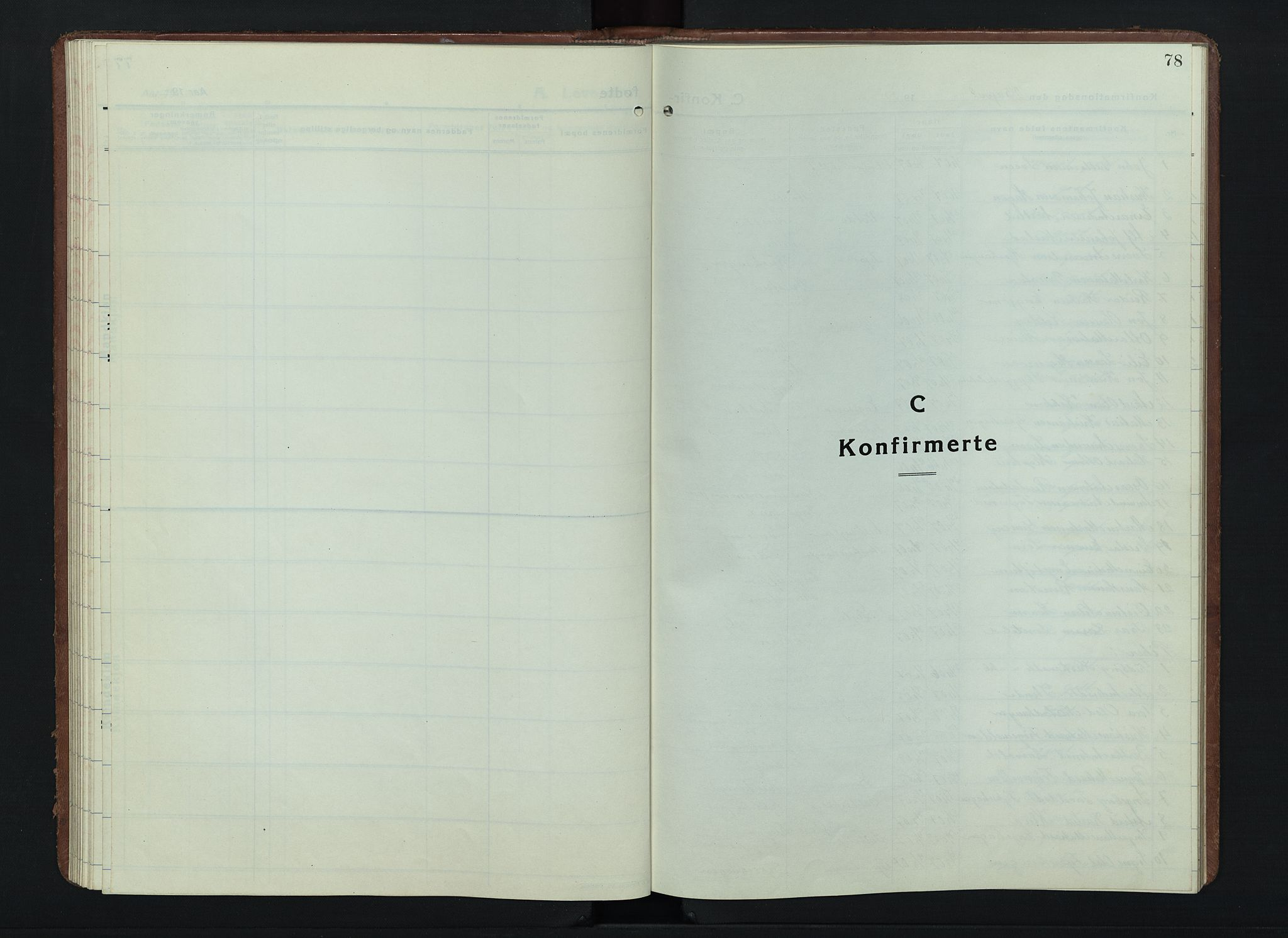 SAH, Østre Gausdal prestekontor, Klokkerbok nr. 6, 1922-1945, s. 78