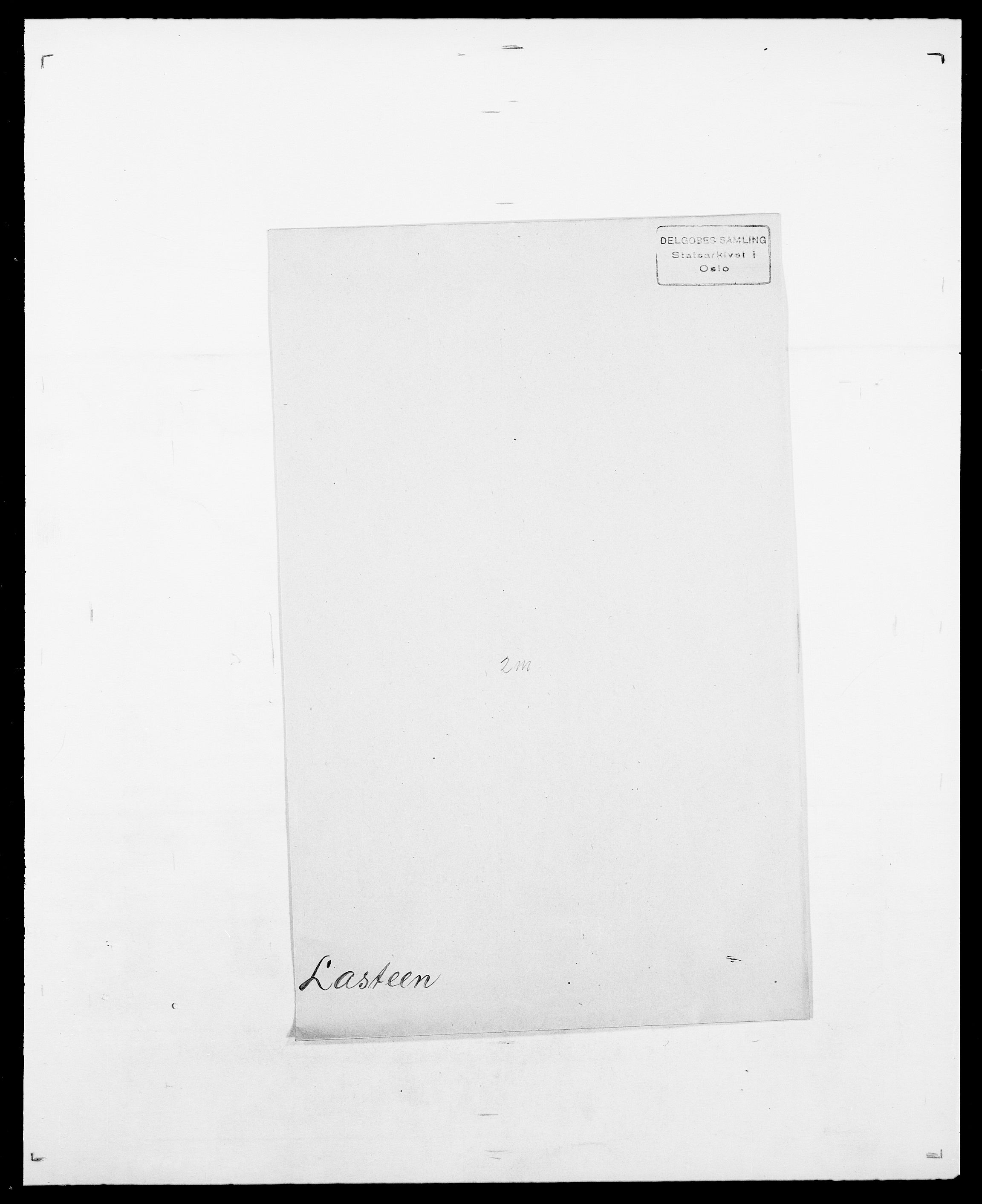 SAO, Delgobe, Charles Antoine - samling, D/Da/L0022: Krog - Lasteen, s. 837