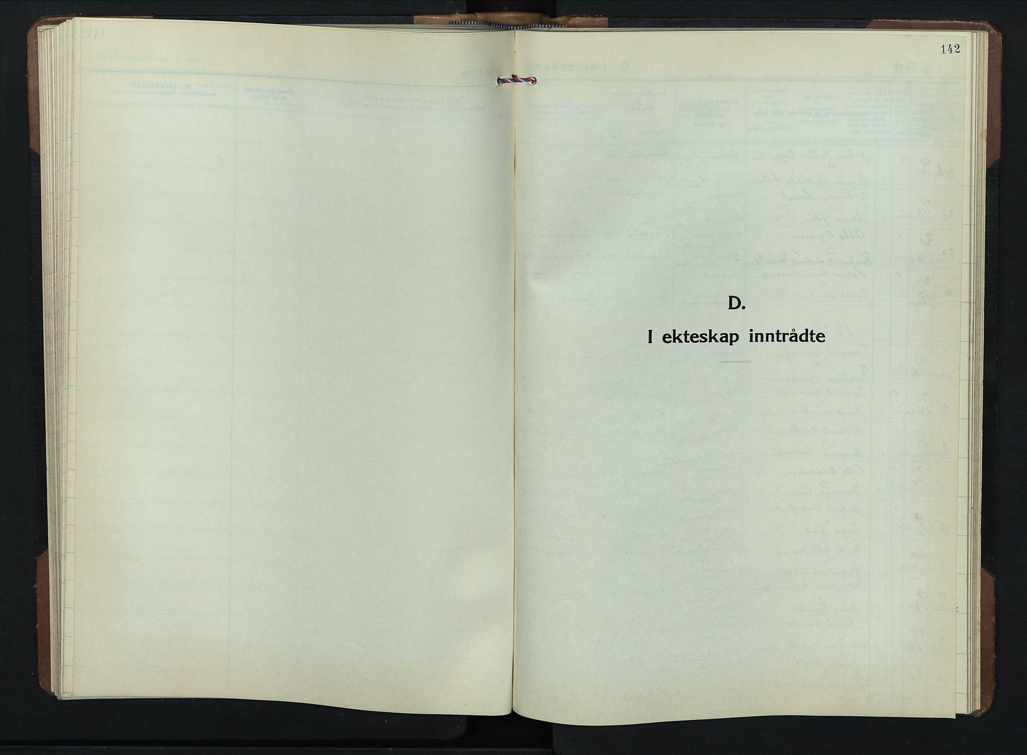 SAH, Brandbu prestekontor, Klokkerbok nr. 2, 1937-1953, s. 142
