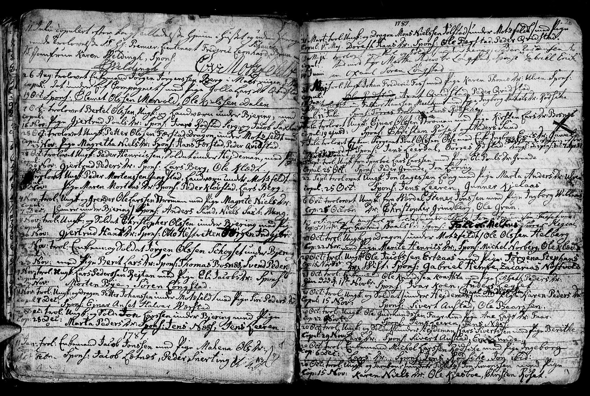 SAT, Ministerialprotokoller, klokkerbøker og fødselsregistre - Nord-Trøndelag, 730/L0273: Ministerialbok nr. 730A02, 1762-1802, s. 20