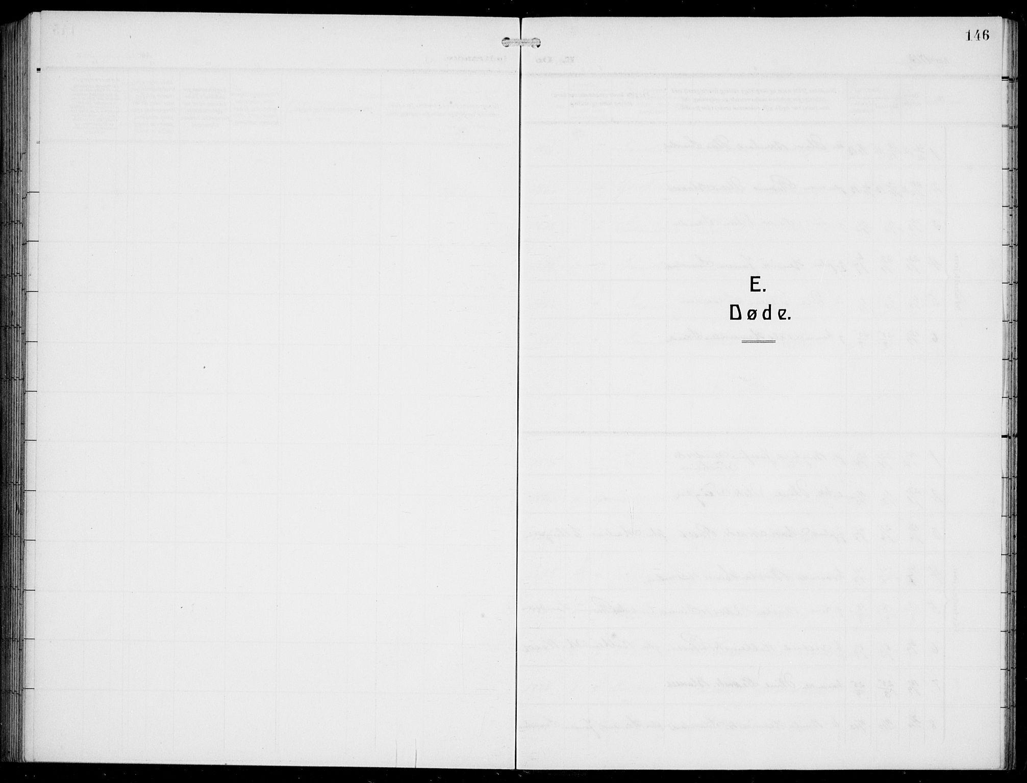 SAB, Innvik Sokneprestembete, Klokkerbok nr. A 4, 1913-1936, s. 146