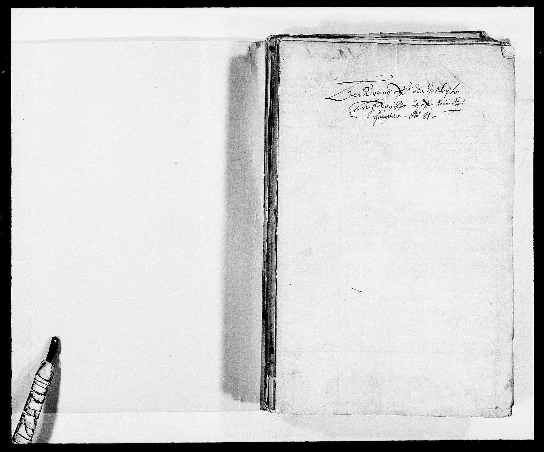 RA, Rentekammeret inntil 1814, Reviderte regnskaper, Fogderegnskap, R12/L0696: Fogderegnskap Øvre Romerike, 1681, s. 2