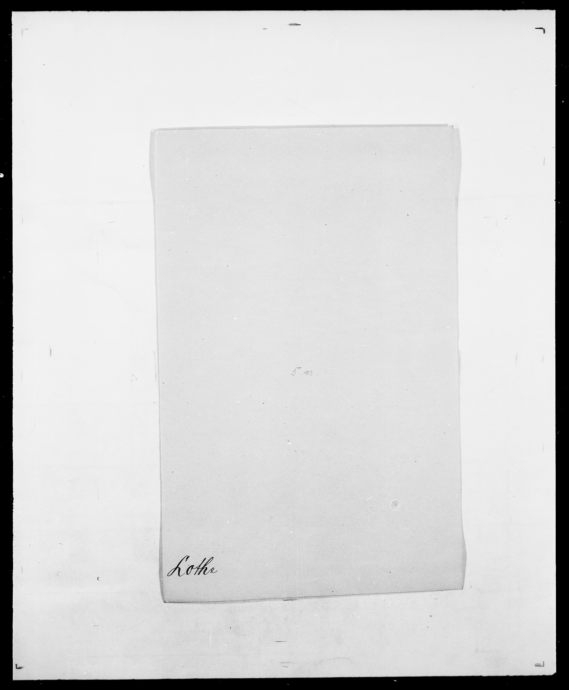 SAO, Delgobe, Charles Antoine - samling, D/Da/L0024: Lobech - Lærum, s. 337