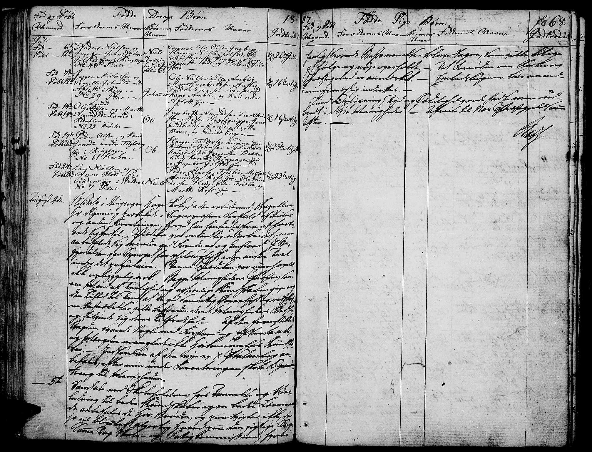 SAH, Ringsaker prestekontor, K/Ka/L0004: Ministerialbok nr. 4, 1799-1814, s. 68