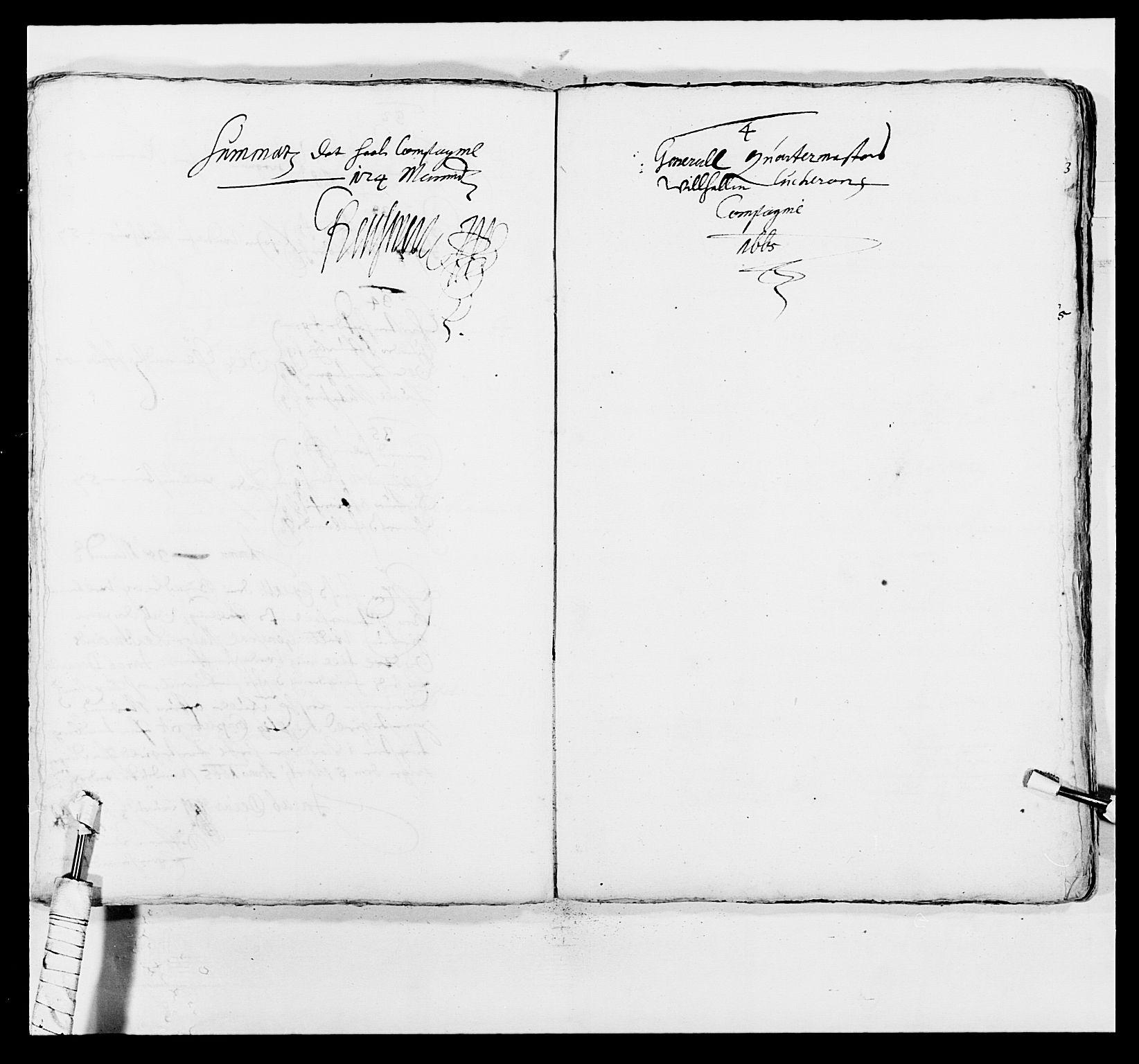 RA, Kommanderende general (KG I) med Det norske krigsdirektorium, E/Ea/L0498: Opplandske regiment, 1662-1689, s. 166