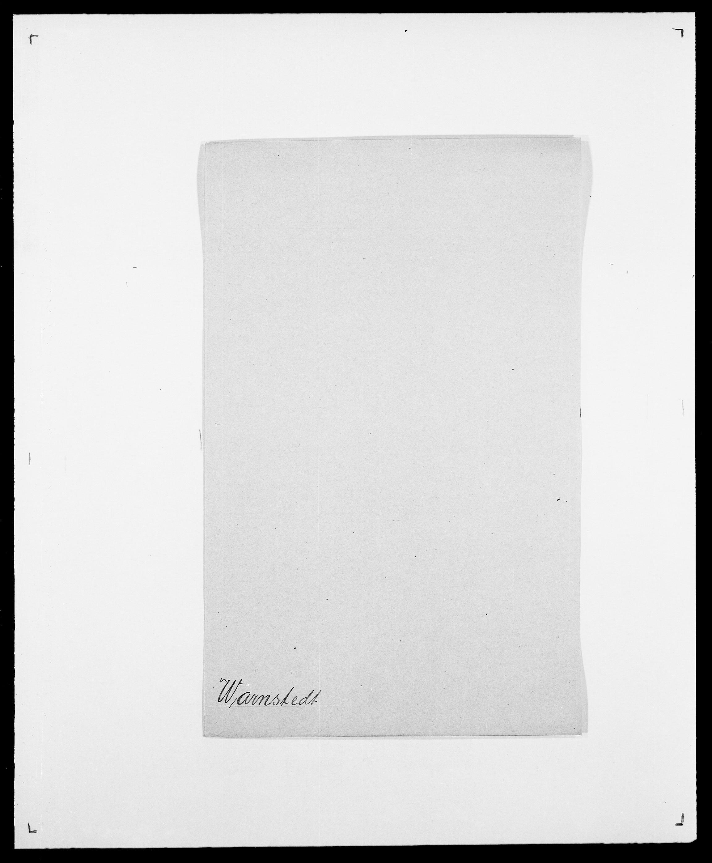 SAO, Delgobe, Charles Antoine - samling, D/Da/L0040: Usgaard - Velund, s. 341