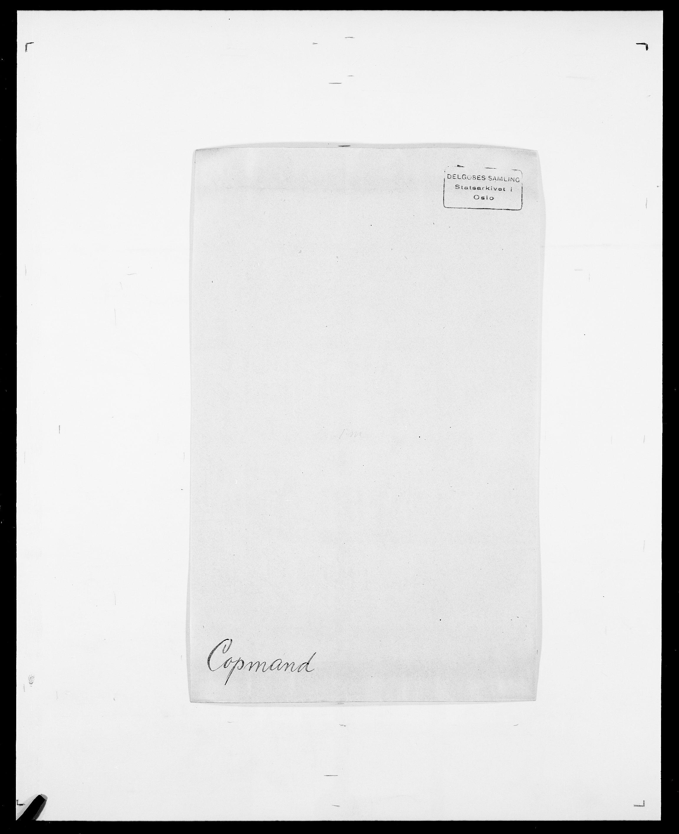 SAO, Delgobe, Charles Antoine - samling, D/Da/L0008: Capjon - Dagenbolt, s. 522
