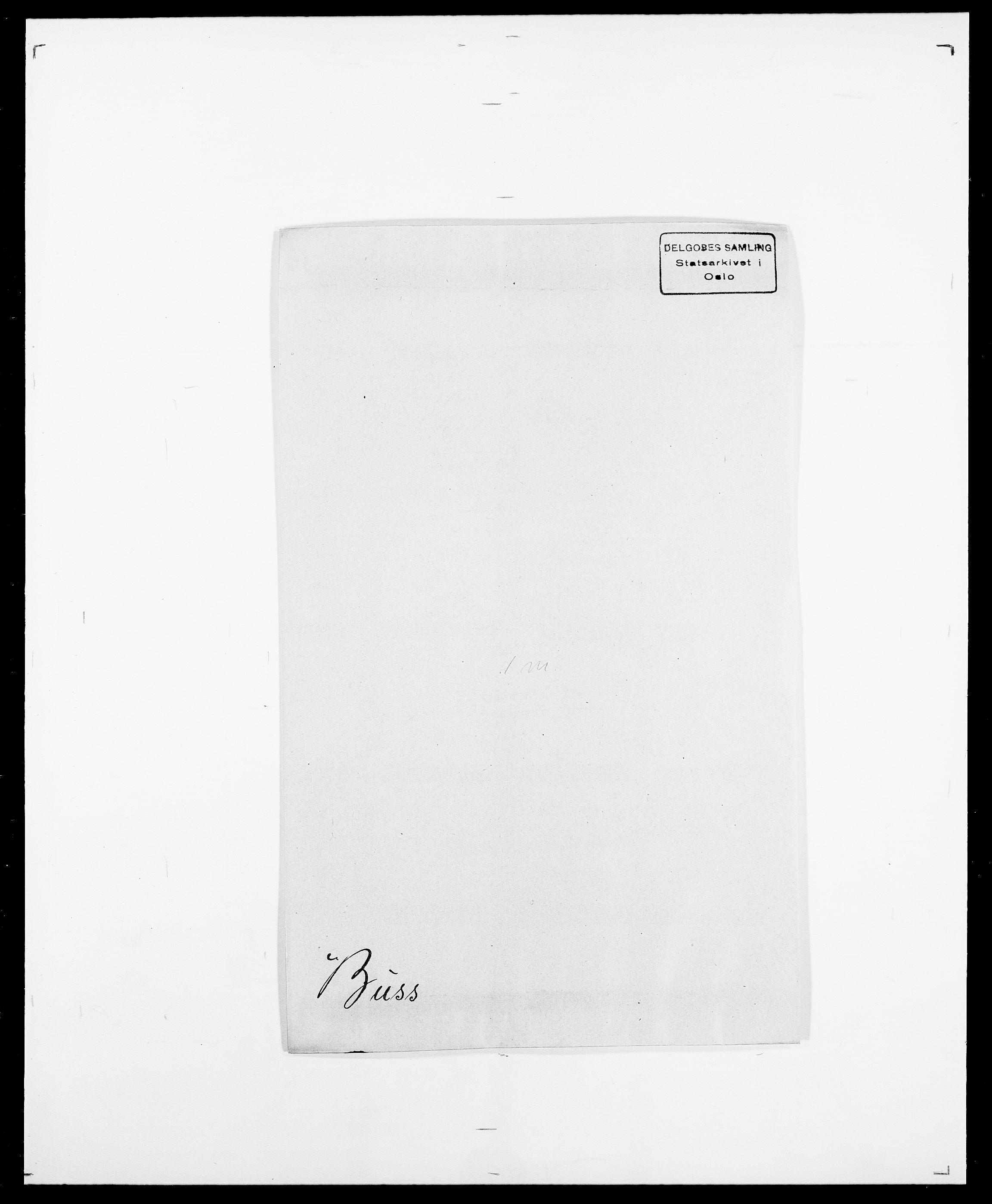 SAO, Delgobe, Charles Antoine - samling, D/Da/L0007: Buaas - Caphengst, s. 480