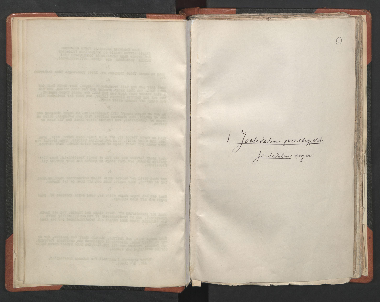 RA, Sogneprestenes manntall 1664-1666, nr. 23: Sogn prosti, 1664-1666, s. 1