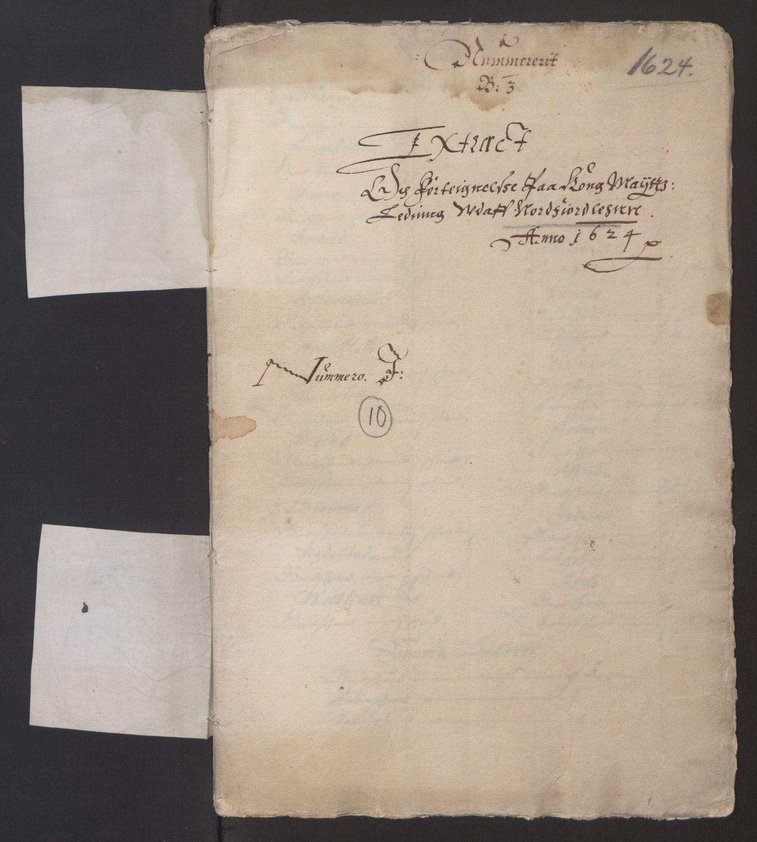 RA, Stattholderembetet 1572-1771, Ek/L0003: Jordebøker til utlikning av garnisonsskatt 1624-1626:, 1624-1625, s. 270