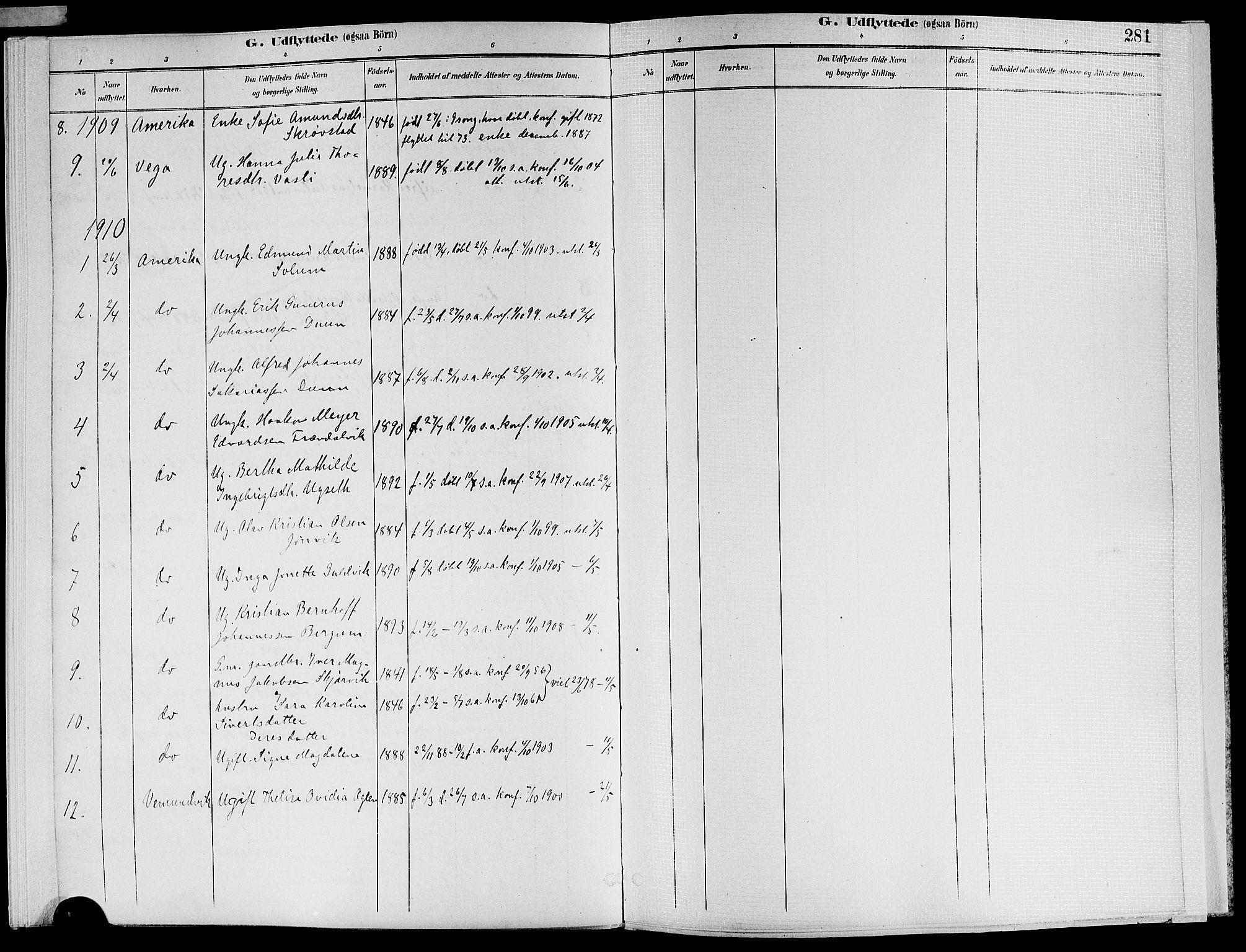 SAT, Ministerialprotokoller, klokkerbøker og fødselsregistre - Nord-Trøndelag, 773/L0617: Ministerialbok nr. 773A08, 1887-1910, s. 281