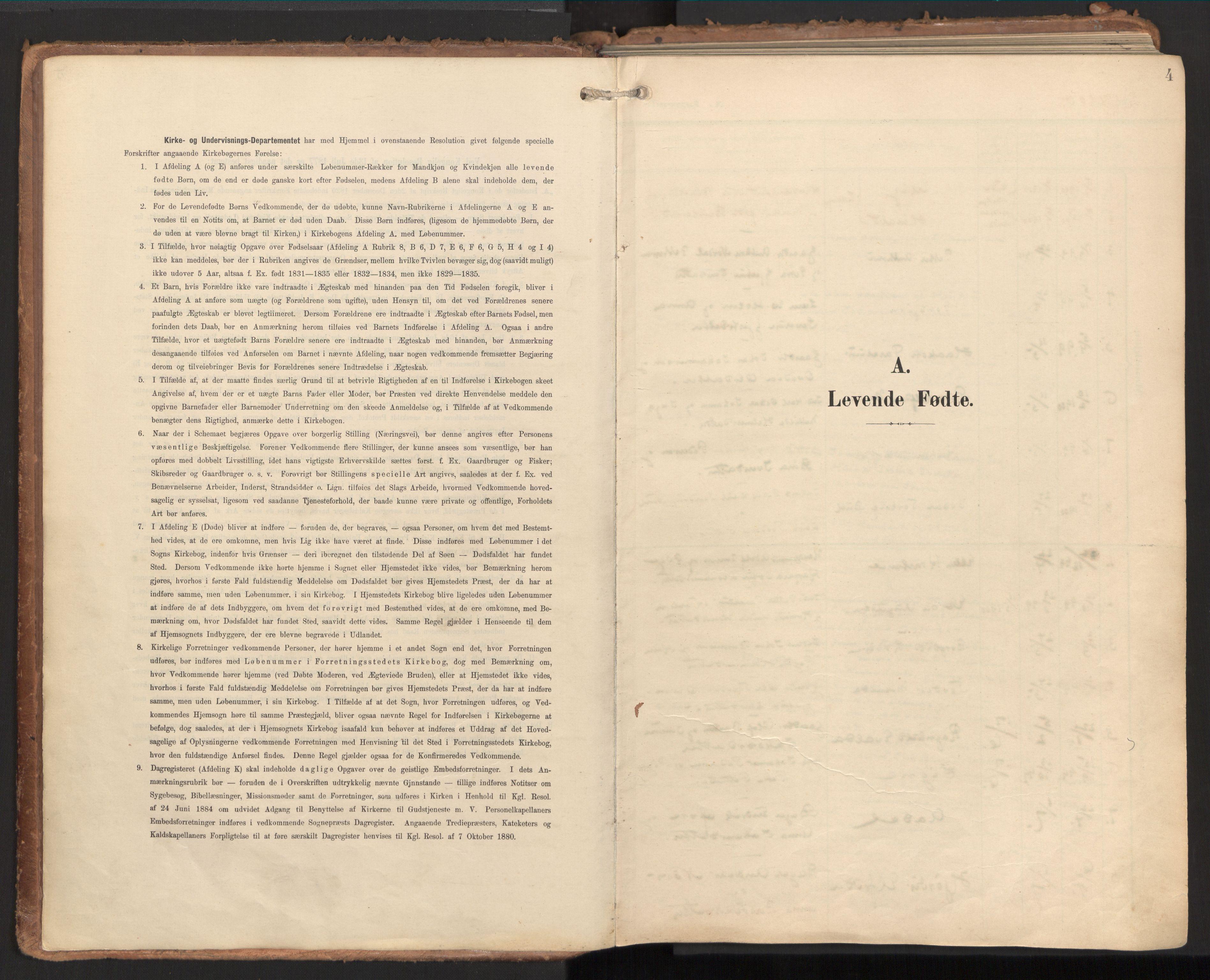 SAT, Ministerialprotokoller, klokkerbøker og fødselsregistre - Nord-Trøndelag, 784/L0677: Ministerialbok nr. 784A12, 1900-1920, s. 4