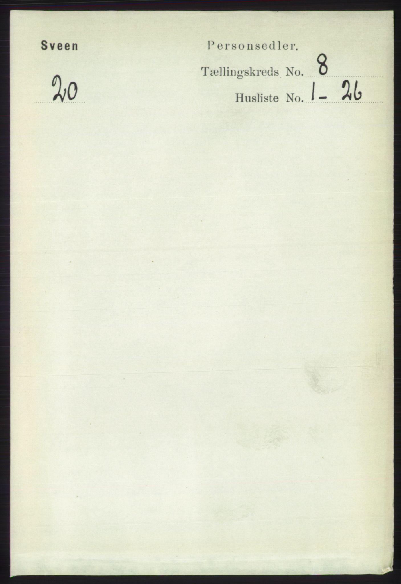 RA, Folketelling 1891 for 1216 Sveio herred, 1891, s. 2352