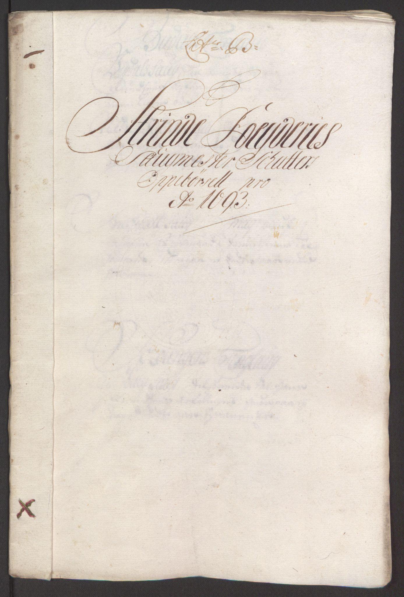RA, Rentekammeret inntil 1814, Reviderte regnskaper, Fogderegnskap, R61/L4104: Fogderegnskap Strinda og Selbu, 1693-1694, s. 56