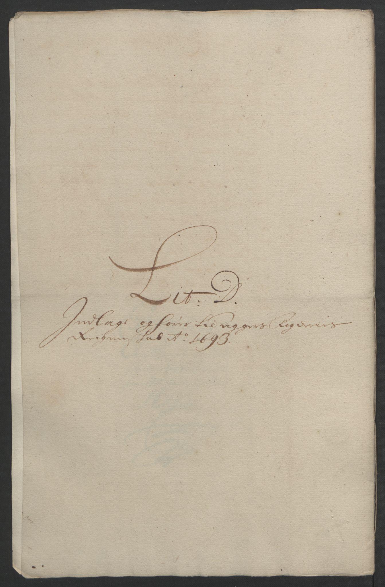 RA, Rentekammeret inntil 1814, Reviderte regnskaper, Fogderegnskap, R08/L0426: Fogderegnskap Aker, 1692-1693, s. 336