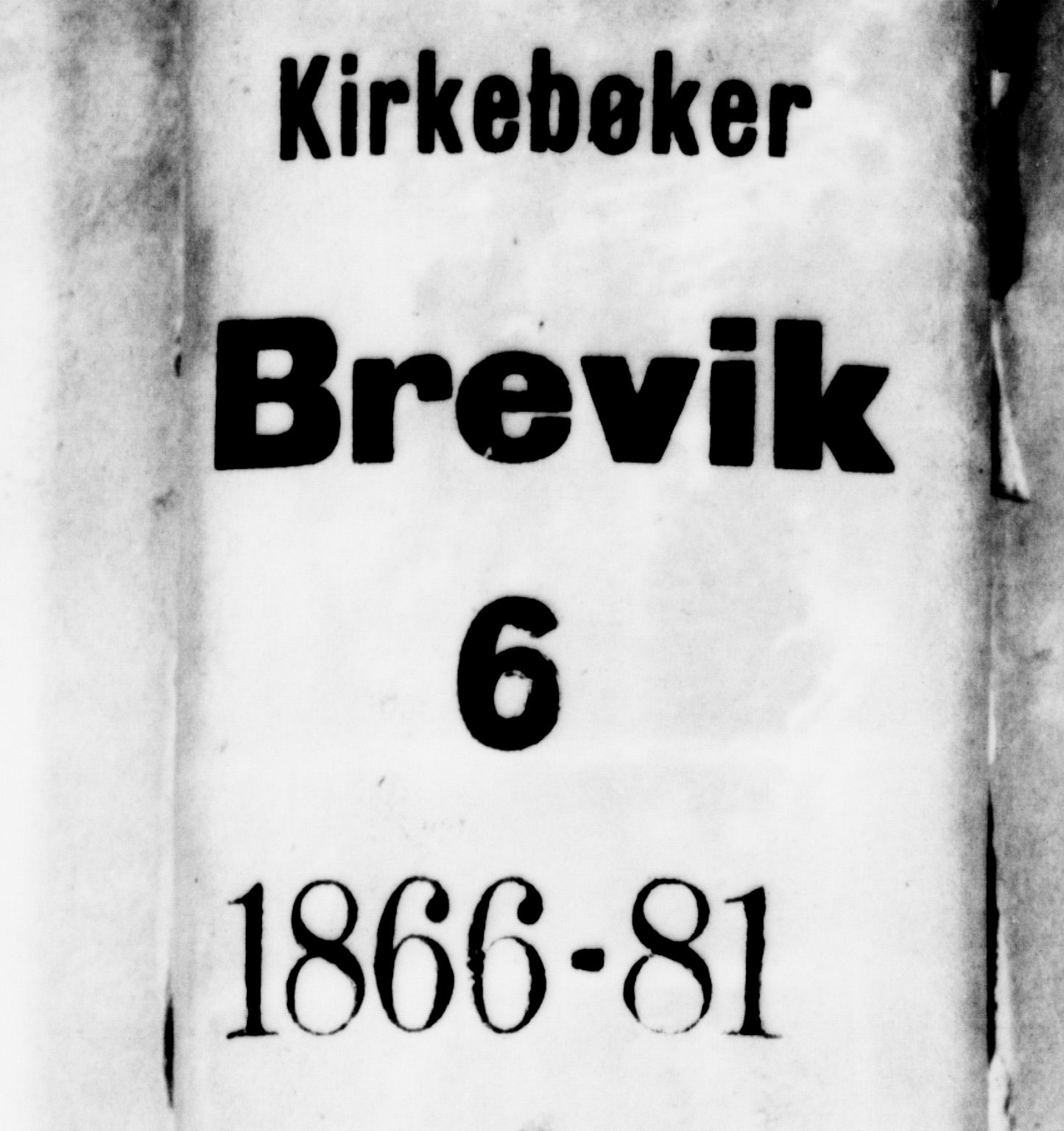 SAKO, Brevik kirkebøker, G/Ga/L0003: Klokkerbok nr. 3, 1866-1881