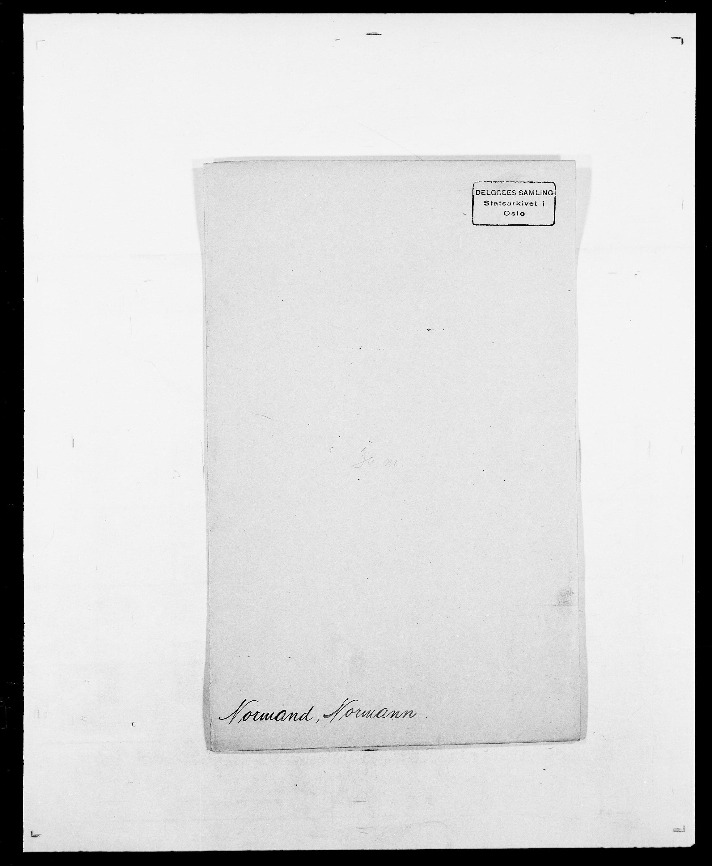 SAO, Delgobe, Charles Antoine - samling, D/Da/L0028: Naaden - Nøvik, s. 461