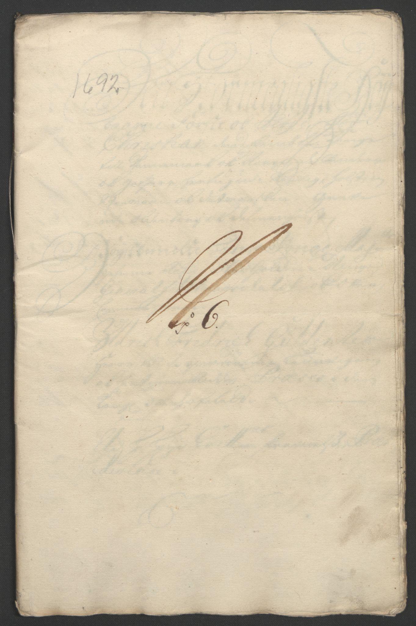 RA, Rentekammeret inntil 1814, Reviderte regnskaper, Fogderegnskap, R11/L0577: Fogderegnskap Nedre Romerike, 1692, s. 276