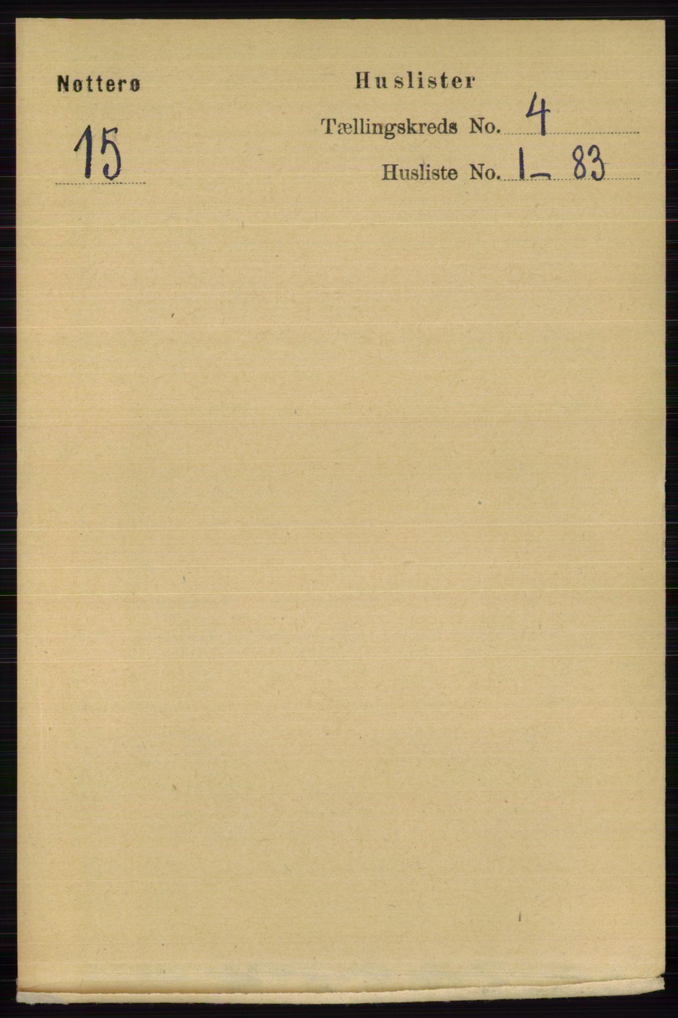 RA, Folketelling 1891 for 0722 Nøtterøy herred, 1891, s. 1941