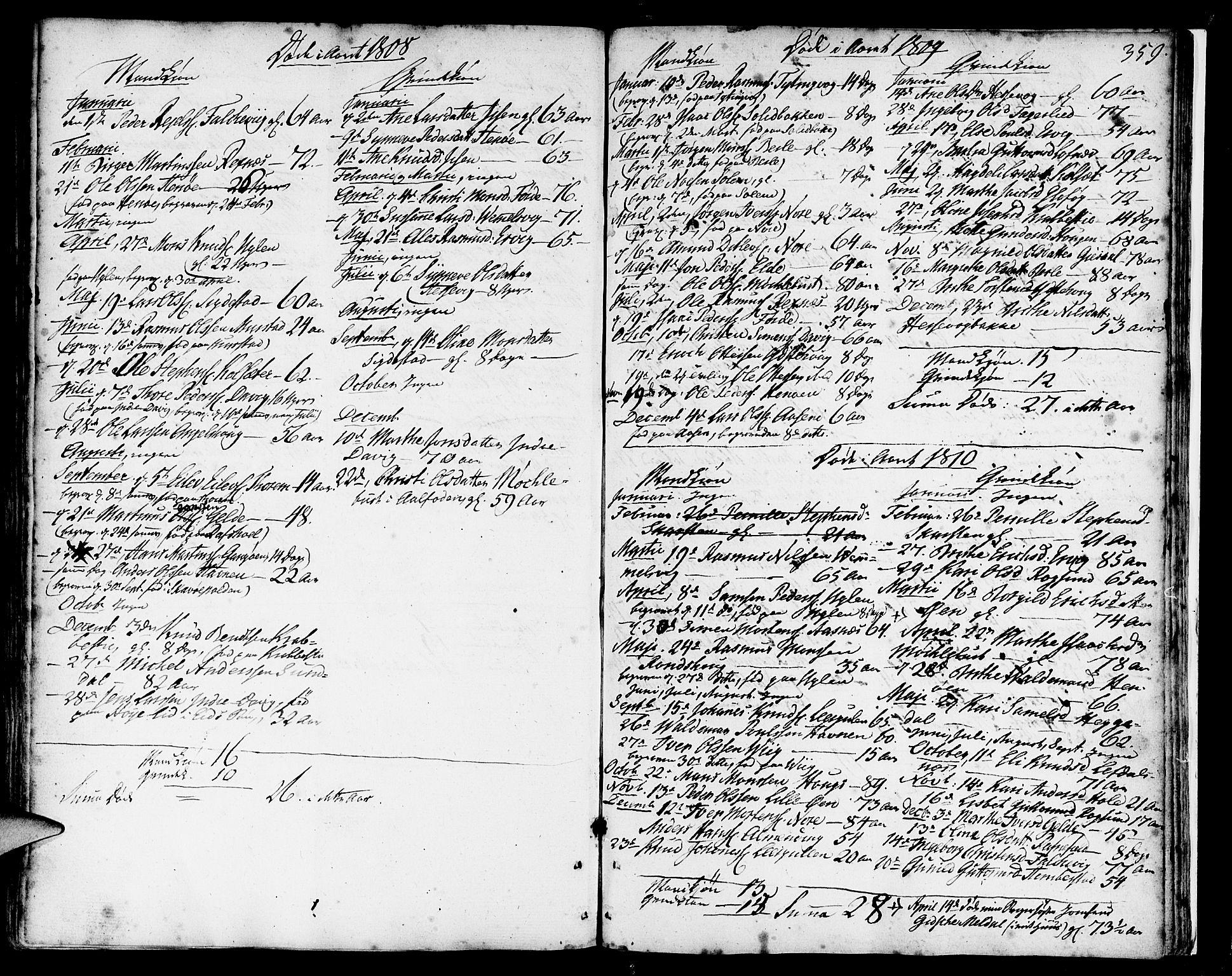 SAB, Davik Sokneprestembete, Ministerialbok nr. A 2, 1742-1816, s. 359