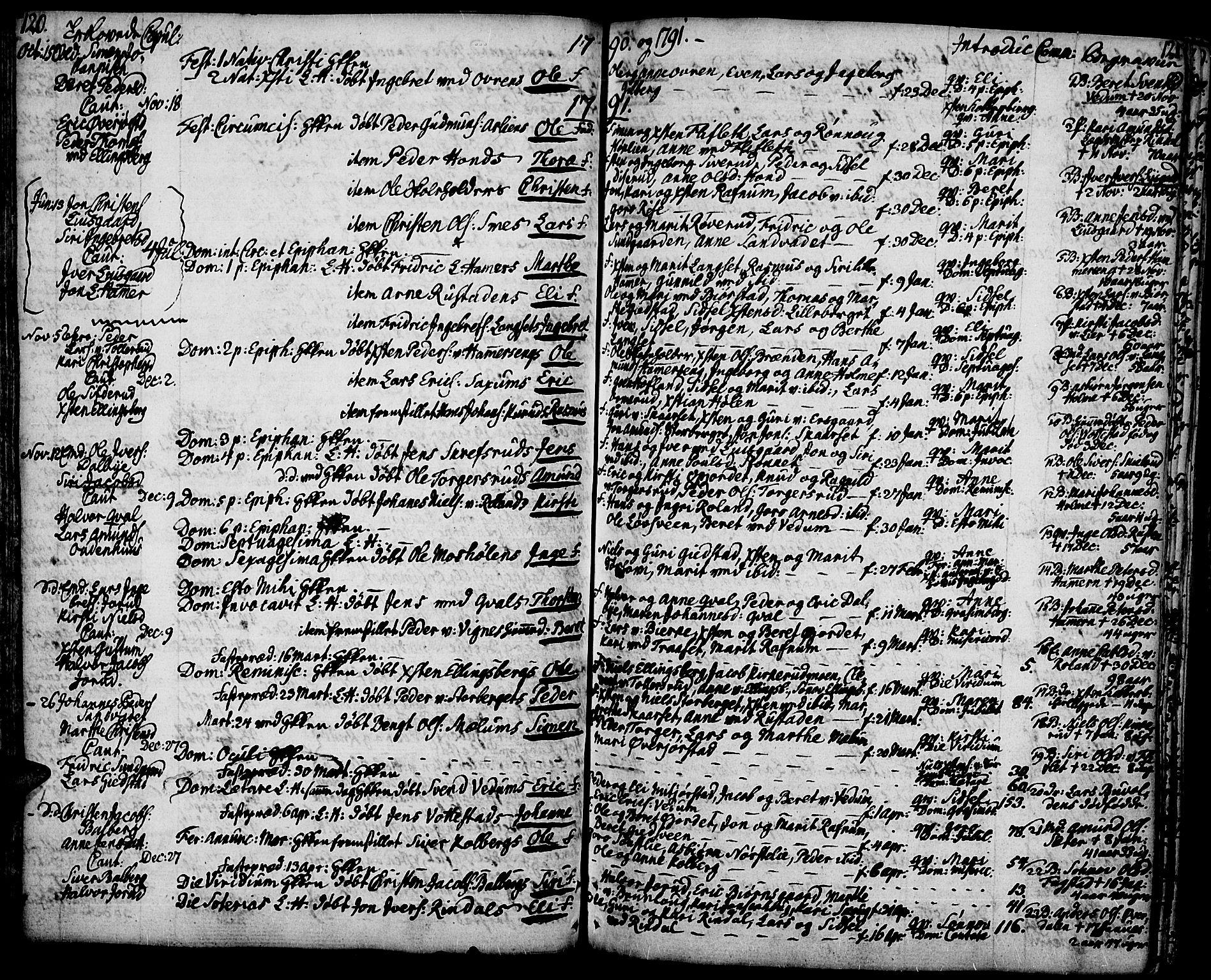 SAH, Fåberg prestekontor, Ministerialbok nr. 2, 1775-1818, s. 120-121