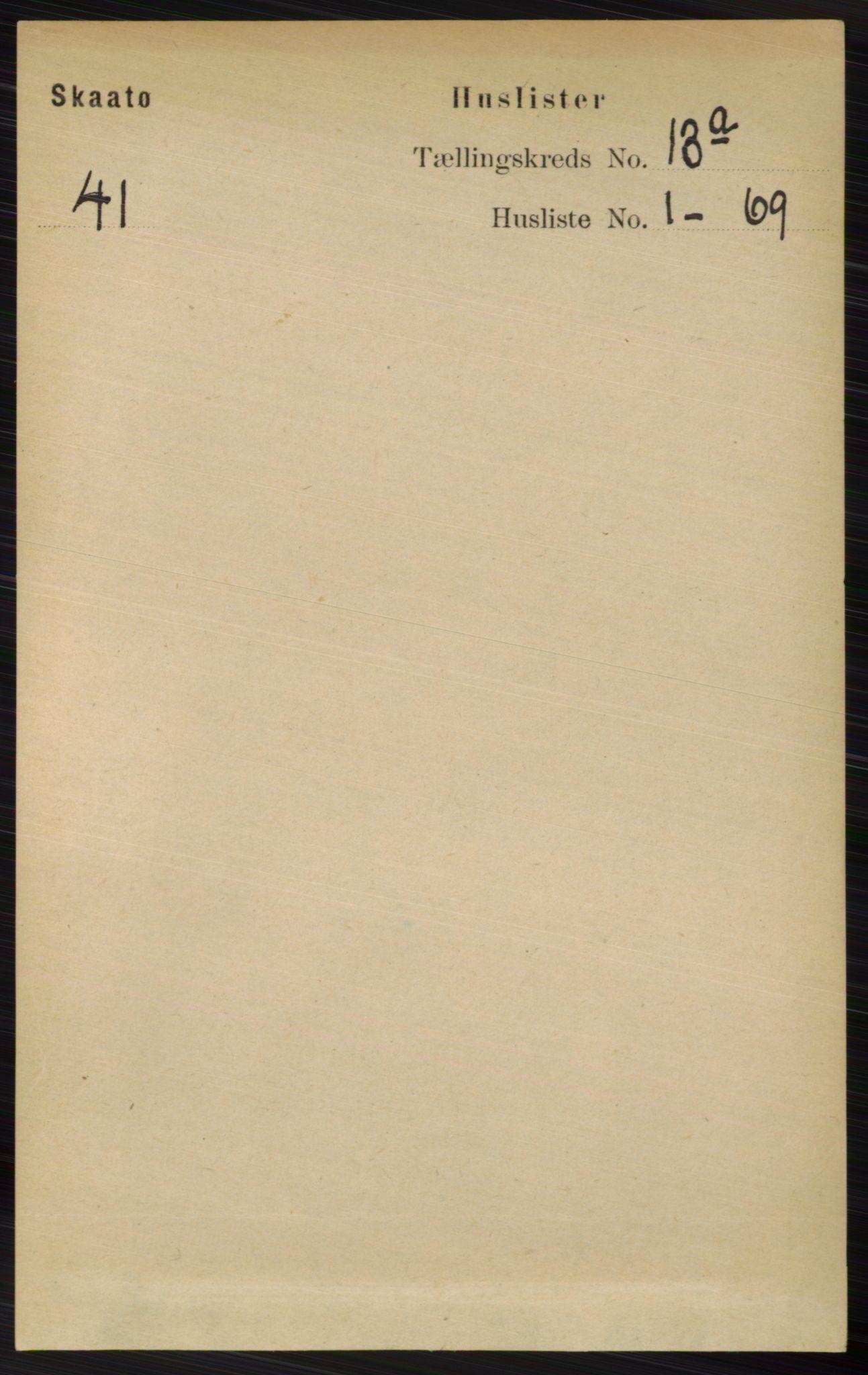 RA, Folketelling 1891 for 0815 Skåtøy herred, 1891, s. 4381