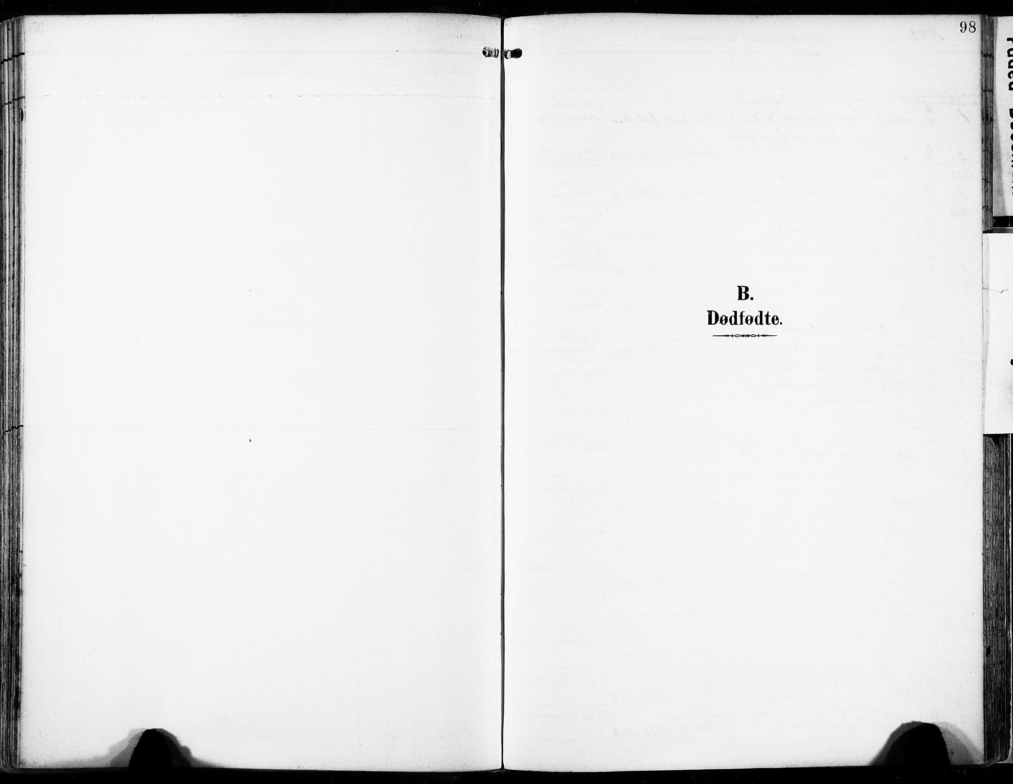SAST, Egersund sokneprestkontor, Ministerialbok nr. A 17, 1892-1905, s. 98