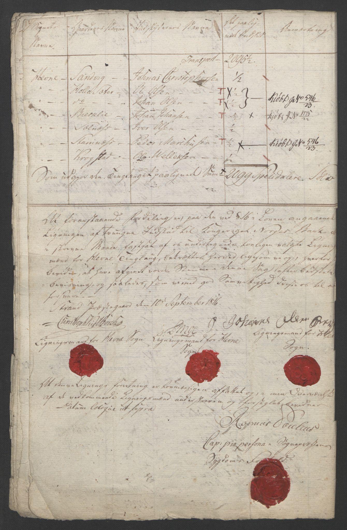 NOBA, Norges Bank/Sølvskatten 1816*, 1816-1822, s. 53