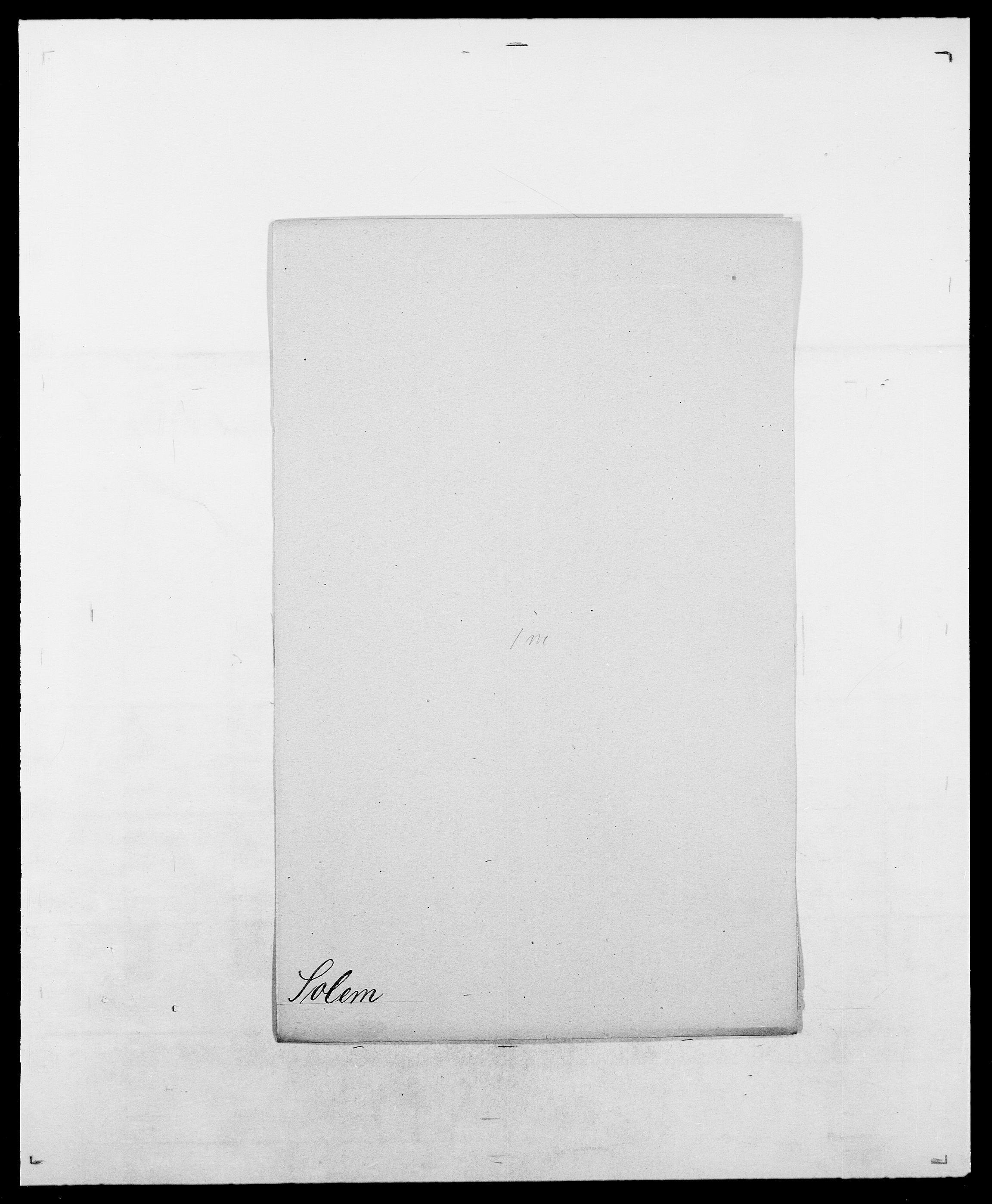 SAO, Delgobe, Charles Antoine - samling, D/Da/L0036: Skaanør - Staverskov, s. 395