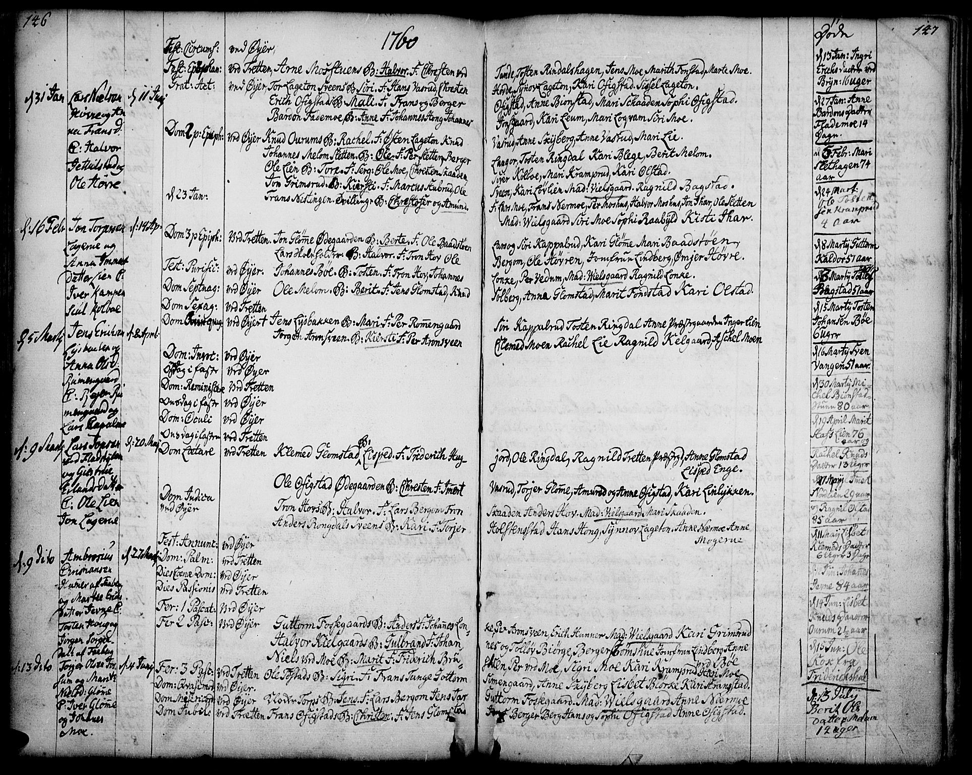 SAH, Øyer prestekontor, Ministerialbok nr. 2, 1733-1784, s. 146-147