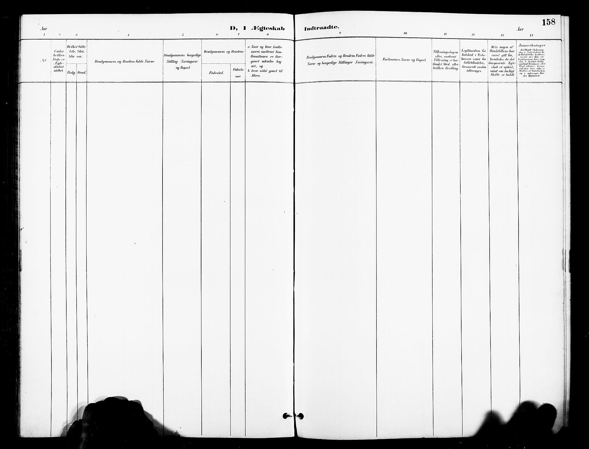 SAT, Ministerialprotokoller, klokkerbøker og fødselsregistre - Nord-Trøndelag, 739/L0372: Ministerialbok nr. 739A04, 1895-1903, s. 158