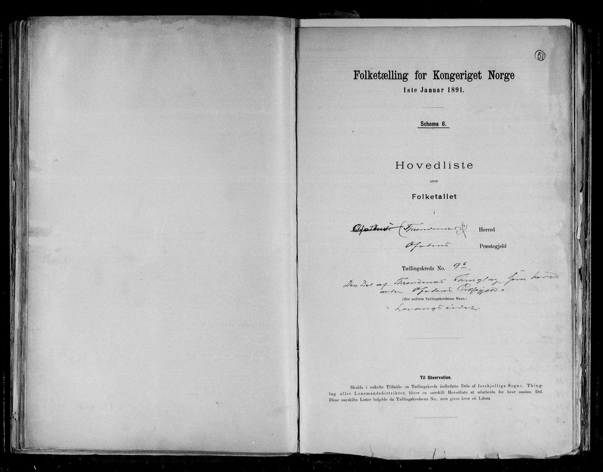 RA, Folketelling 1891 for 1914 Trondenes herred, 1891, s. 36