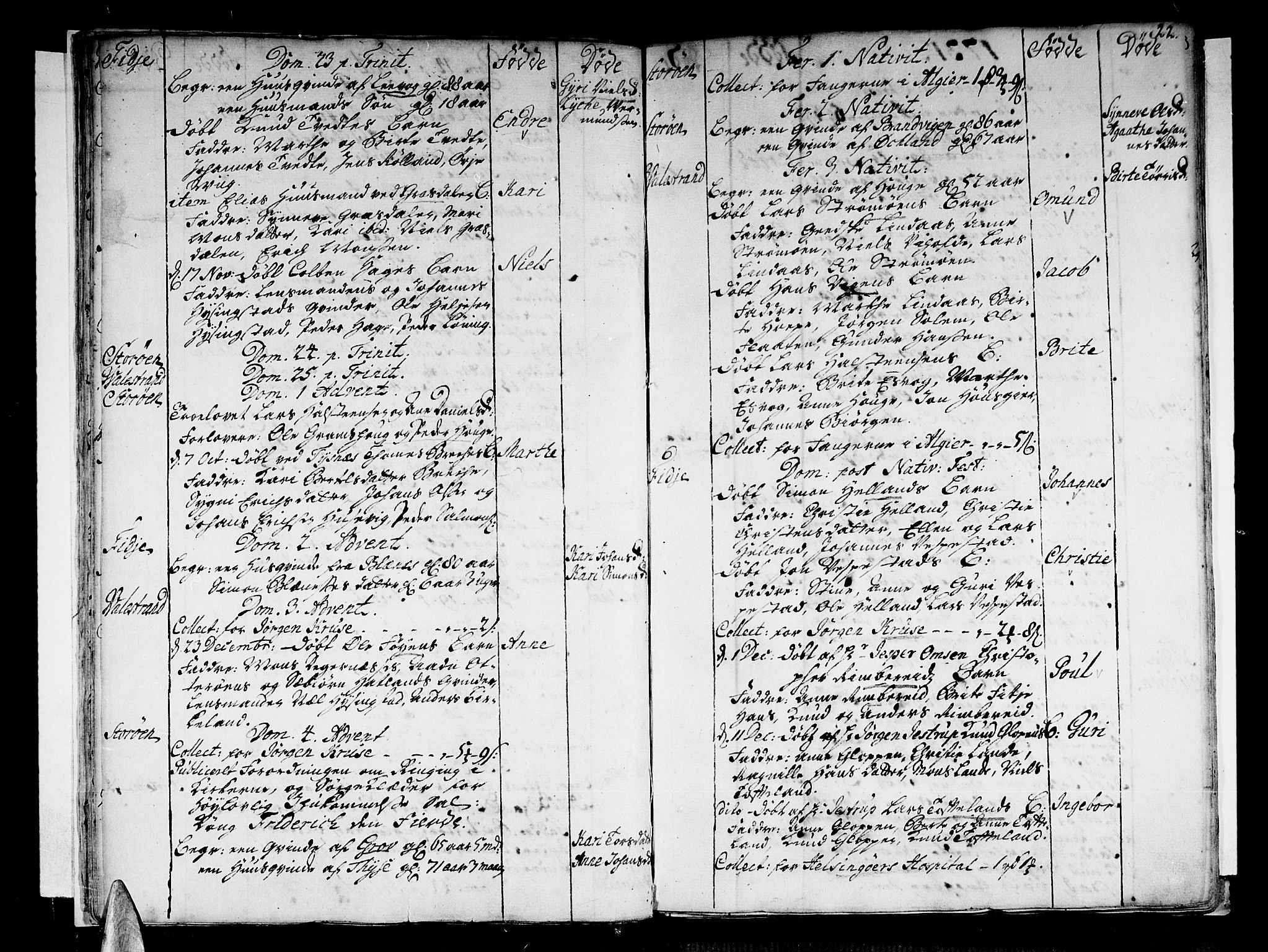SAB, Stord Sokneprestembete, H/Haa: Ministerialbok nr. A 1, 1725-1744, s. 22