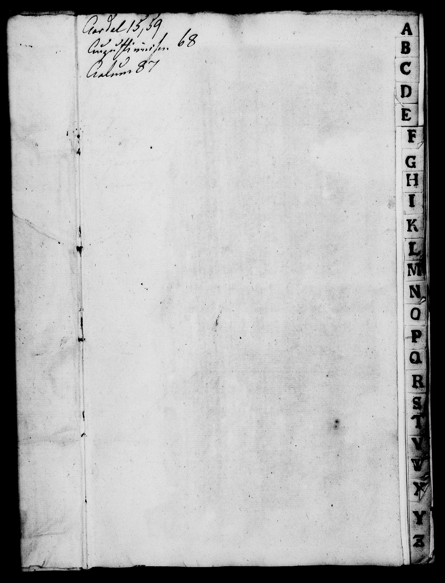 RA, Rentekammeret, Kammerkanselliet, G/Gf/Gfa/L0014: Norsk relasjons- og resolusjonsprotokoll (merket RK 52.14), 1731, s. 3