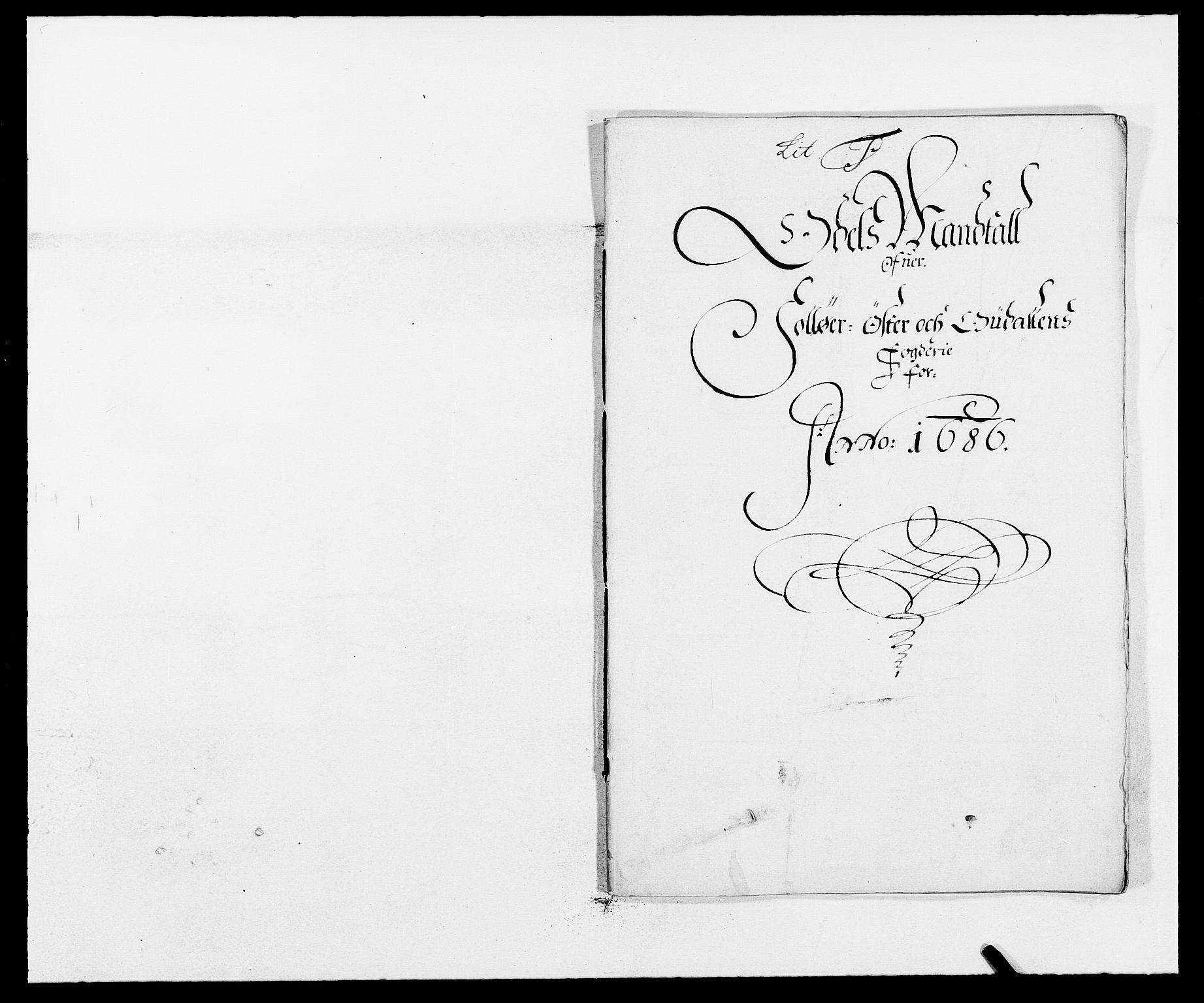 RA, Rentekammeret inntil 1814, Reviderte regnskaper, Fogderegnskap, R13/L0823: Fogderegnskap Solør, Odal og Østerdal, 1686, s. 204