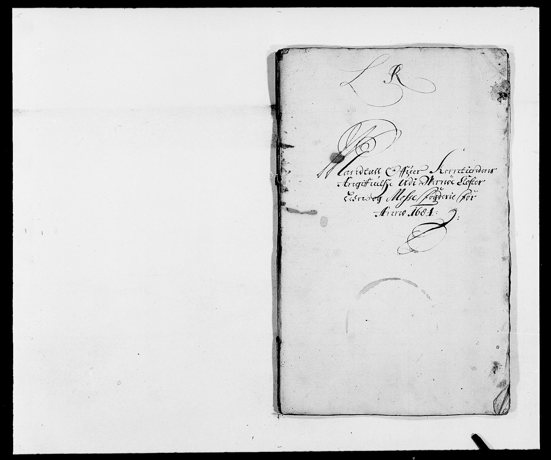 RA, Rentekammeret inntil 1814, Reviderte regnskaper, Fogderegnskap, R02/L0103: Fogderegnskap Moss og Verne kloster, 1682-1684, s. 461