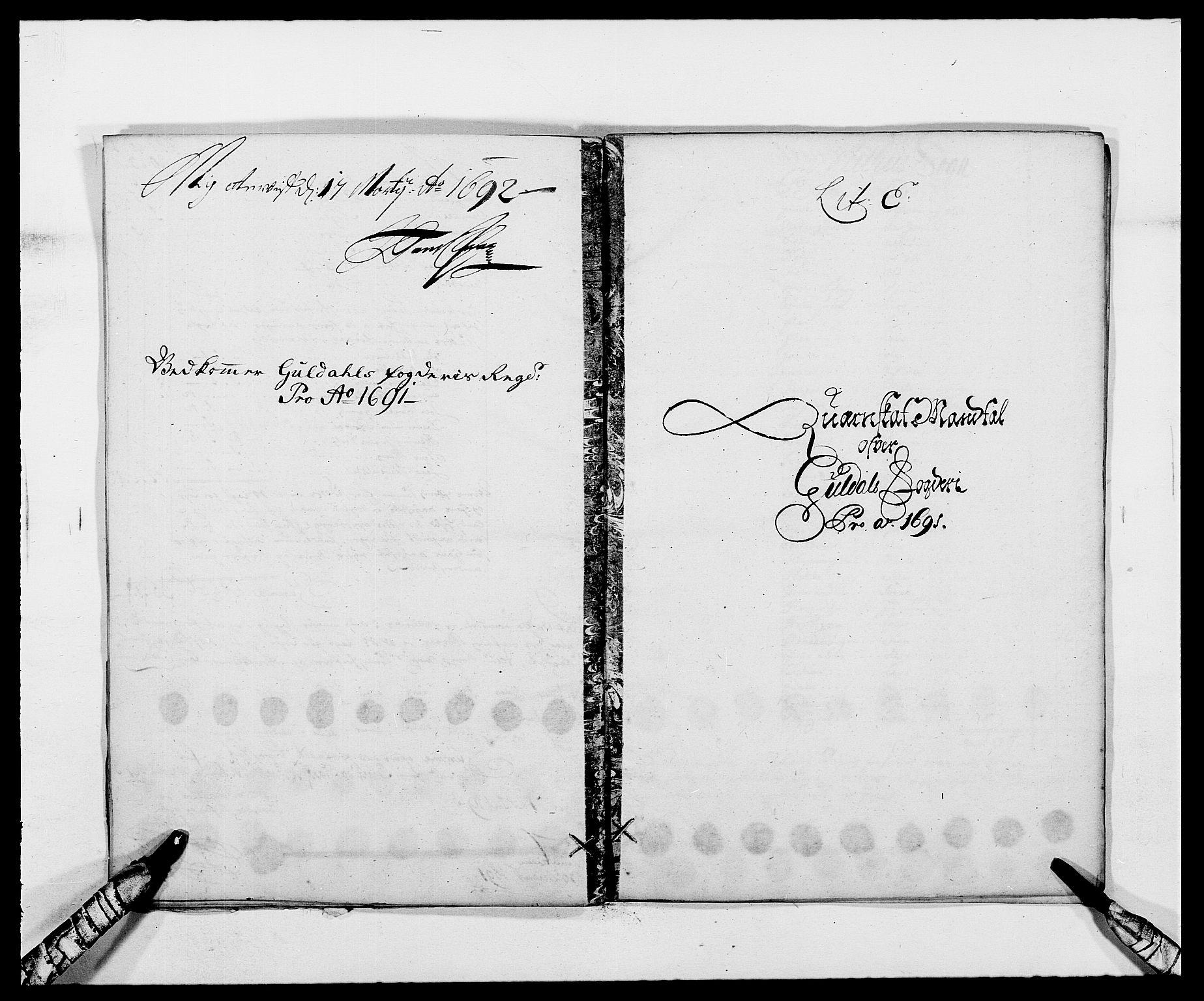 RA, Rentekammeret inntil 1814, Reviderte regnskaper, Fogderegnskap, R59/L3941: Fogderegnskap Gauldal, 1691, s. 75